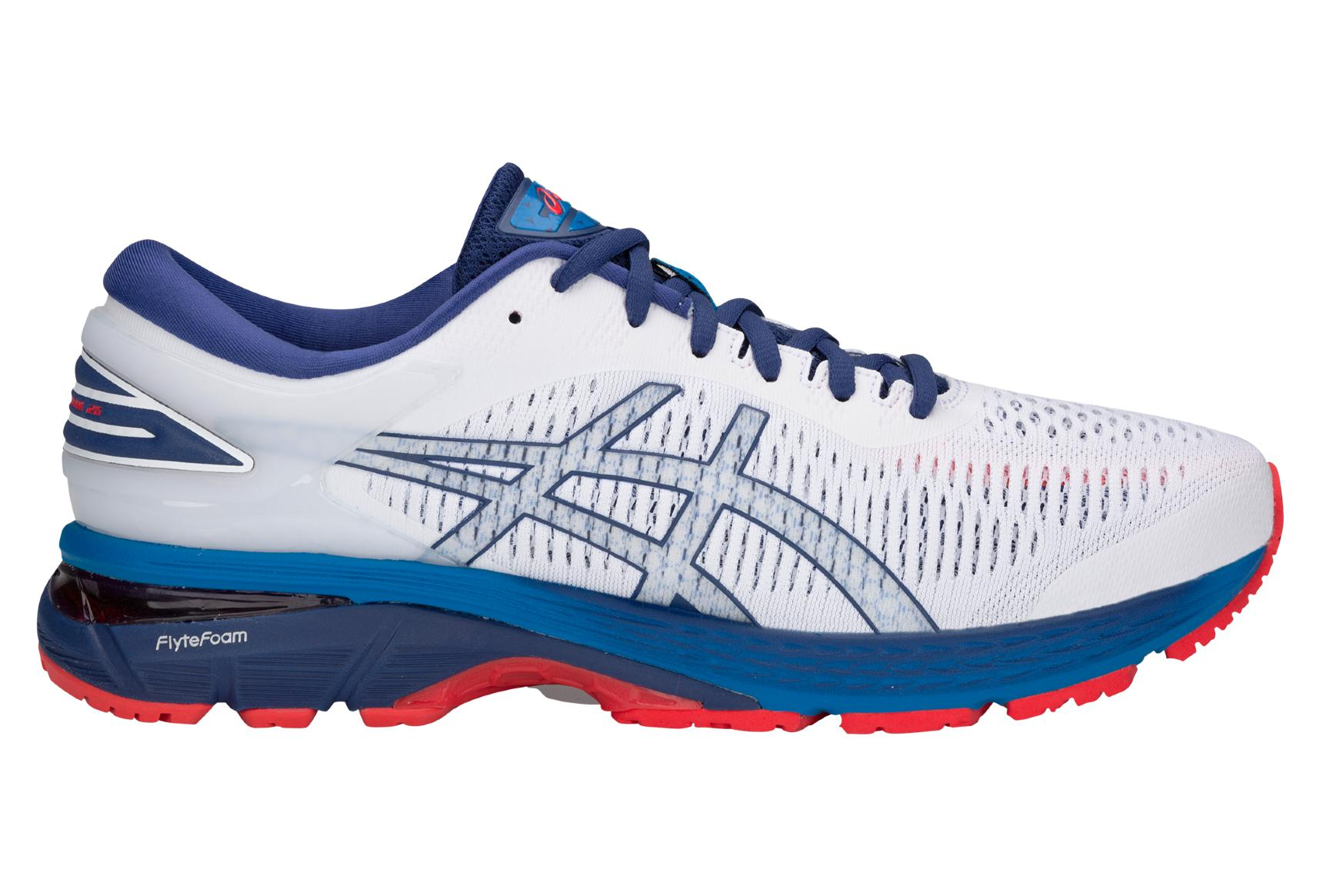 Scarpe da Running Asics Gel-Kayano 25 Bianco Blu  0e4bb134c70