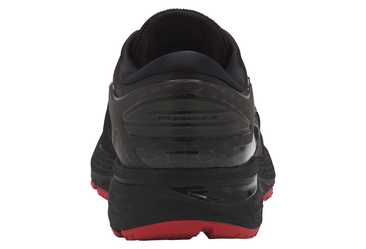 a1e7ff51d33 Zapatillas Asics Gel-Kayano 25 Lite-Show para Hombre Negro   Rojo