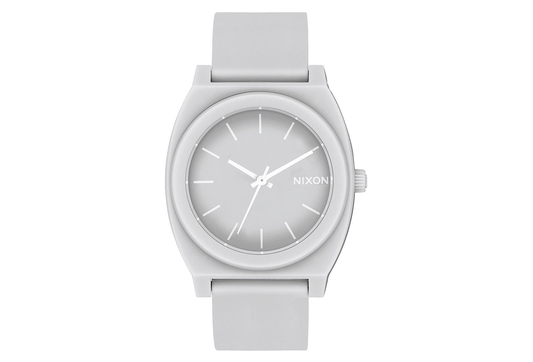 ff7d1cecbbde Nixon Time Teller P Reloj mate Cool Gray