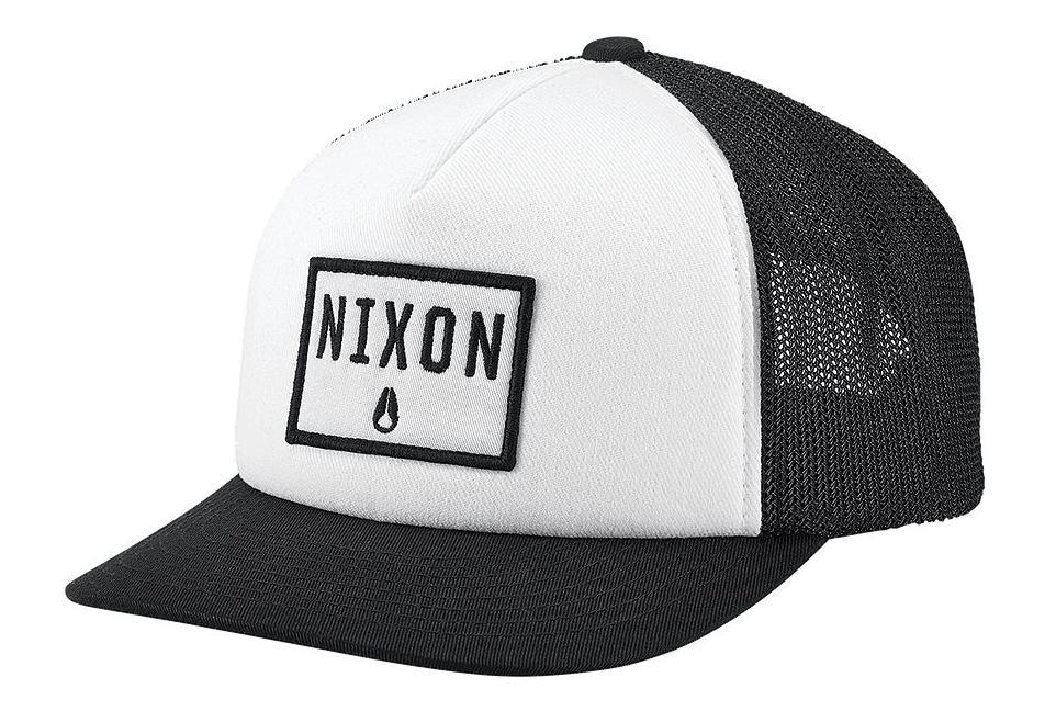 Nixon Bend Trucker Hat Black  936ed33b761