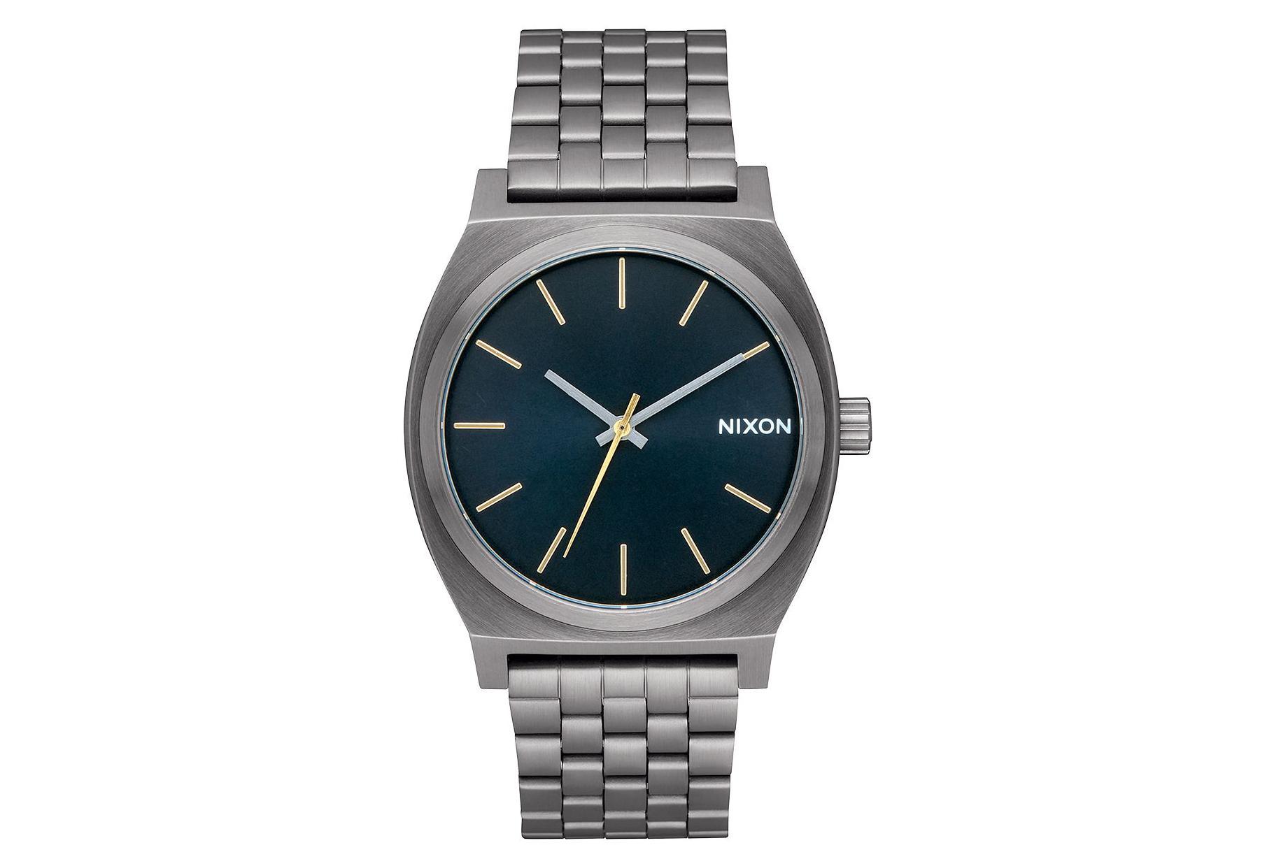 545b2bcc5 Nixon Time Teller Gunmetal / Indigo One Size | Alltricks.com