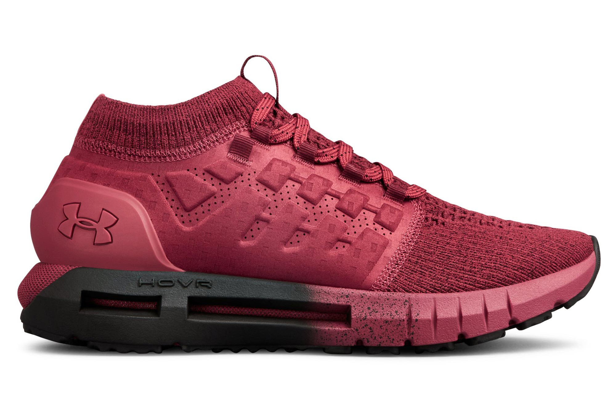 get cheap 66cc2 77aee Under Armour HOVR Phantom Dark Red