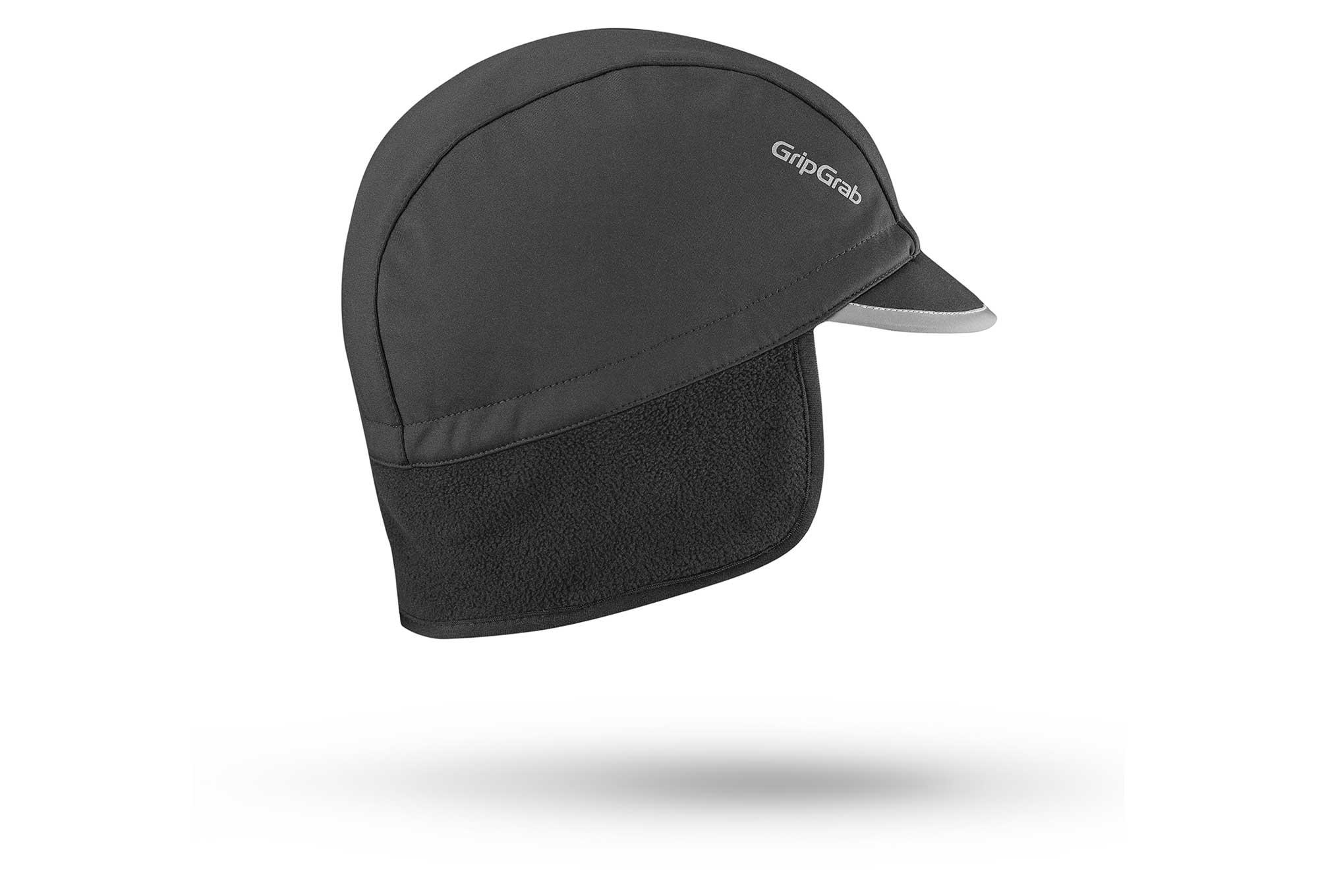 Gripgrab-black headband headwear for the velo-race-skiing and randonnee