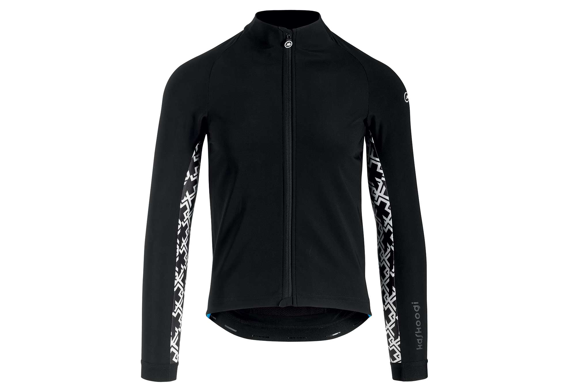 Assos Mille GT Jacket Winter Thermal Jacket Black White  a233912cf