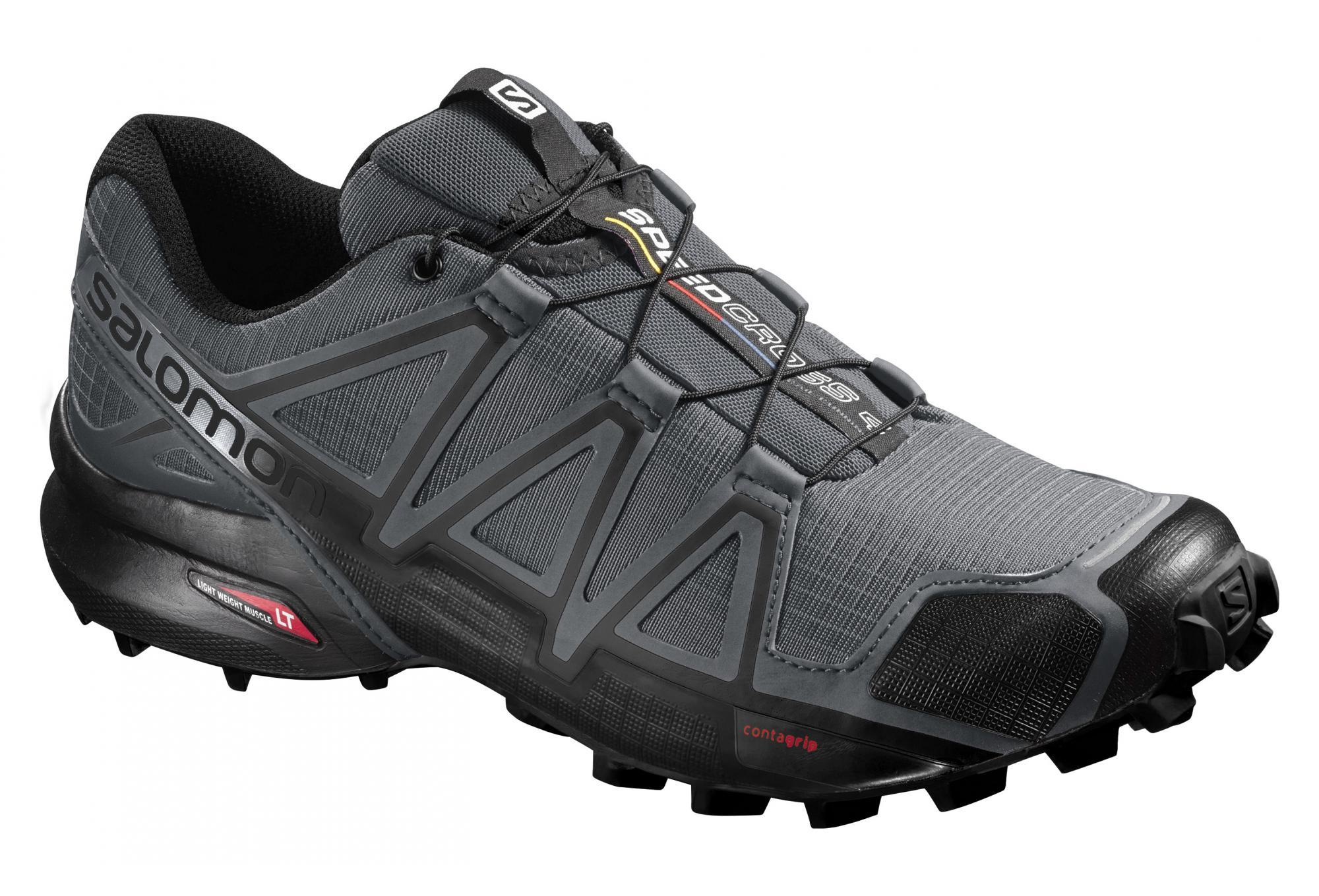 pretty nice 18d92 48b08 Salomon Speedcross 4 Shoes Grey Black   Alltricks.com