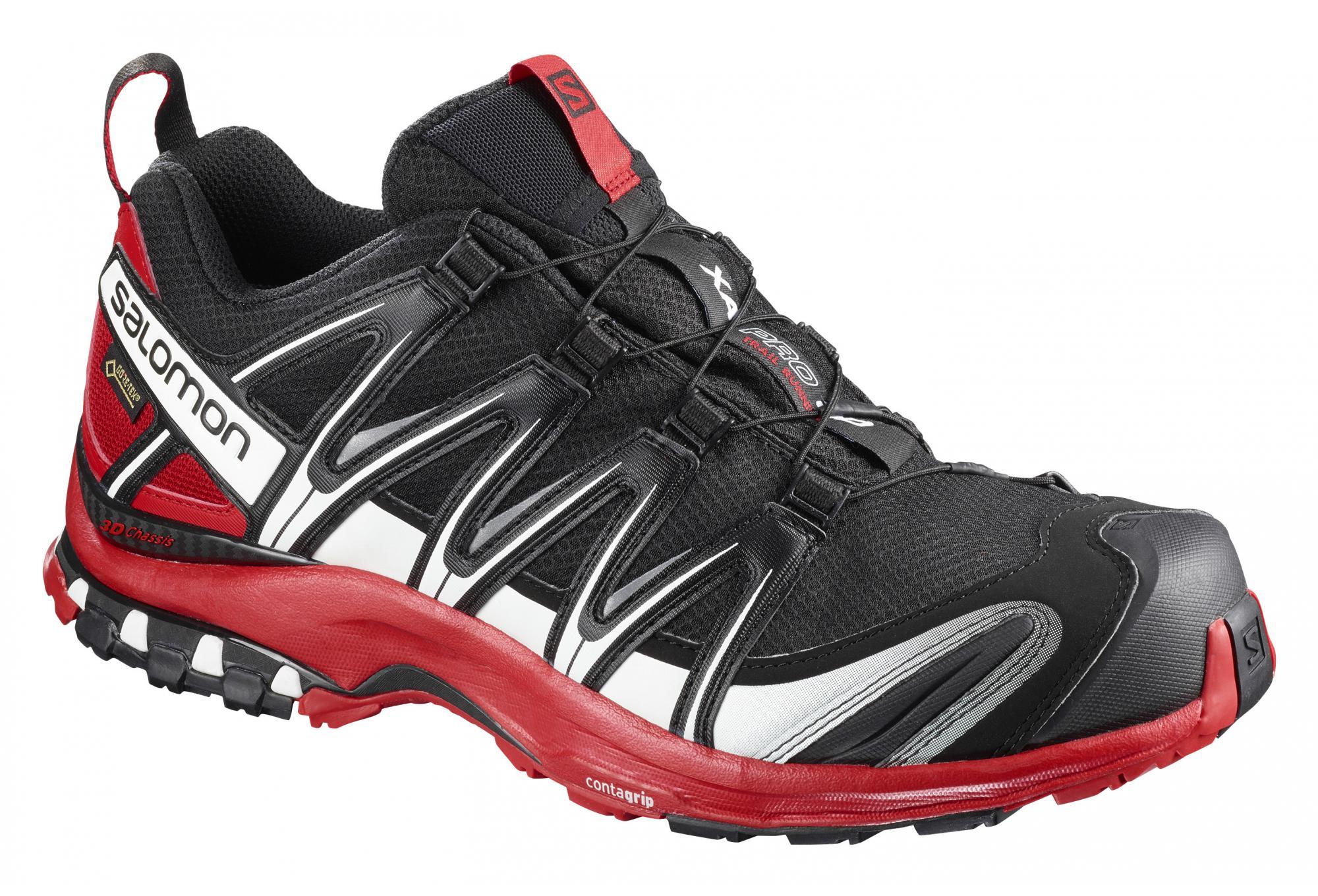newest 8bf22 a9493 Salomon S-Lab XA 3D GTX Shoes Black Red   Alltricks.com