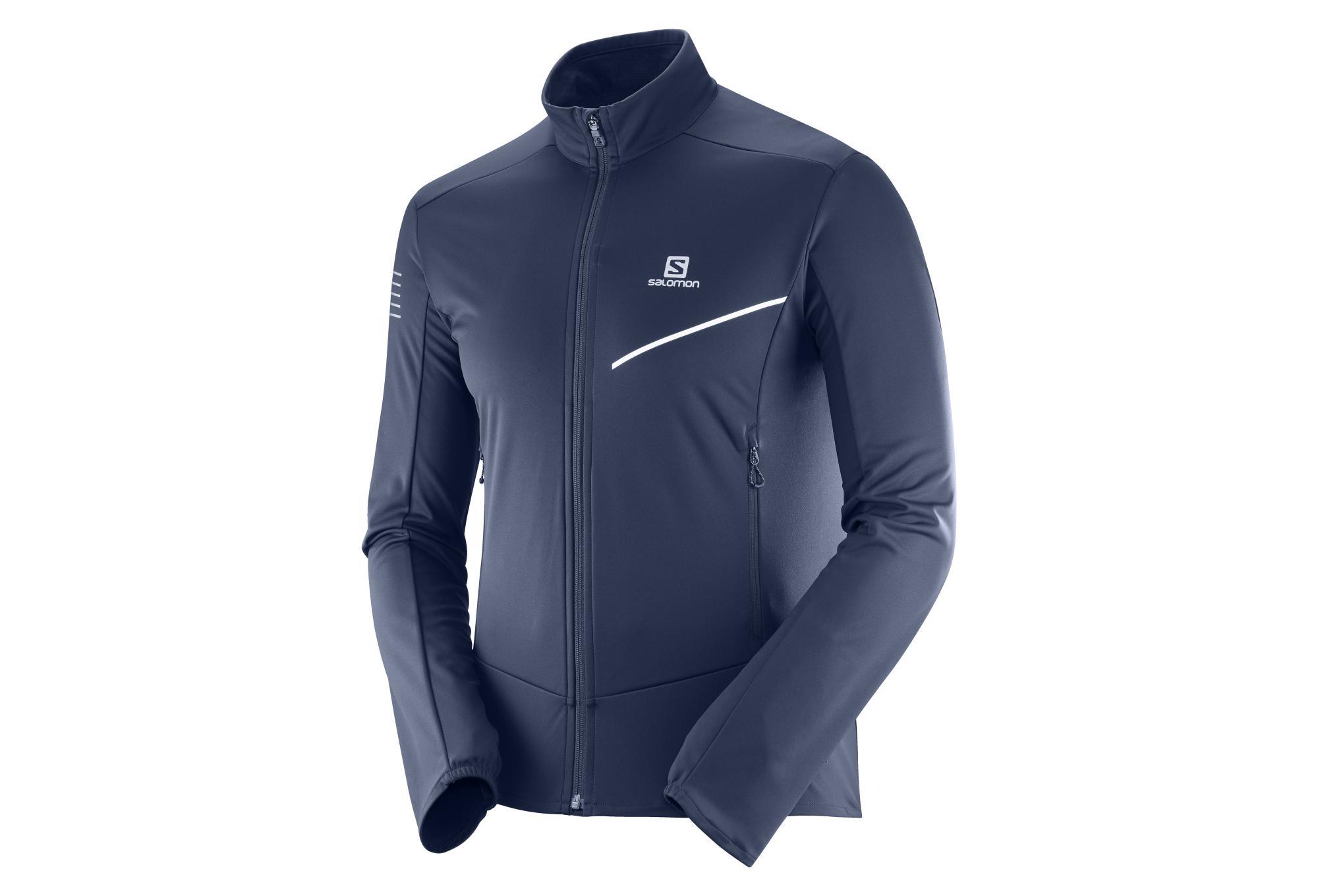 best website d275c 8239e Salomom Rs Softshell Jacket Night Sky