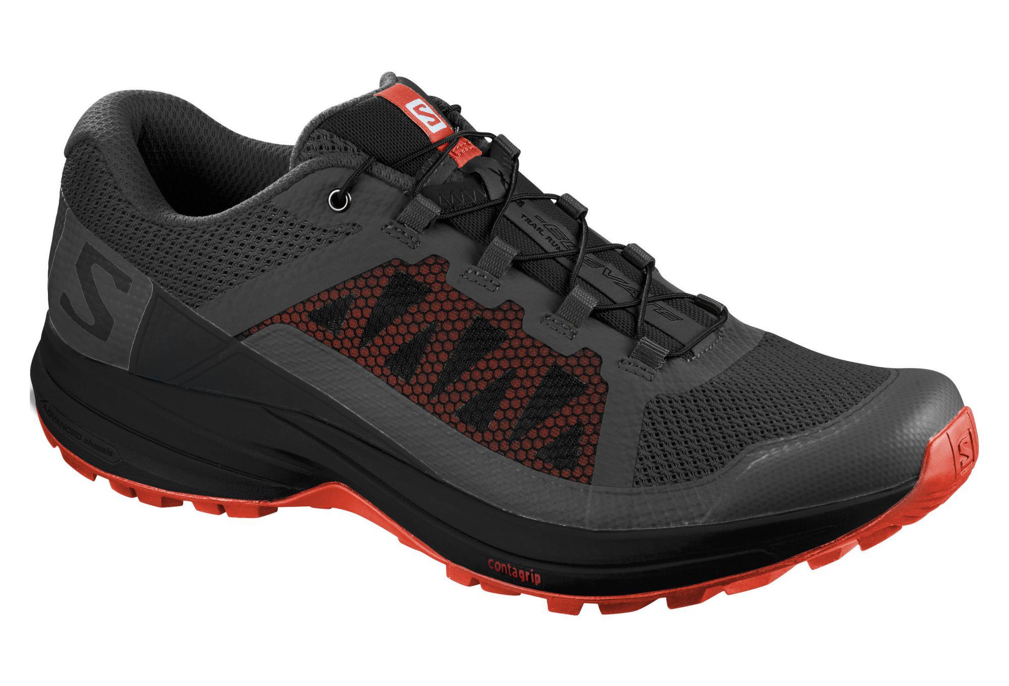 Salomon XA Elevate Shoes Magnet Cherry Black