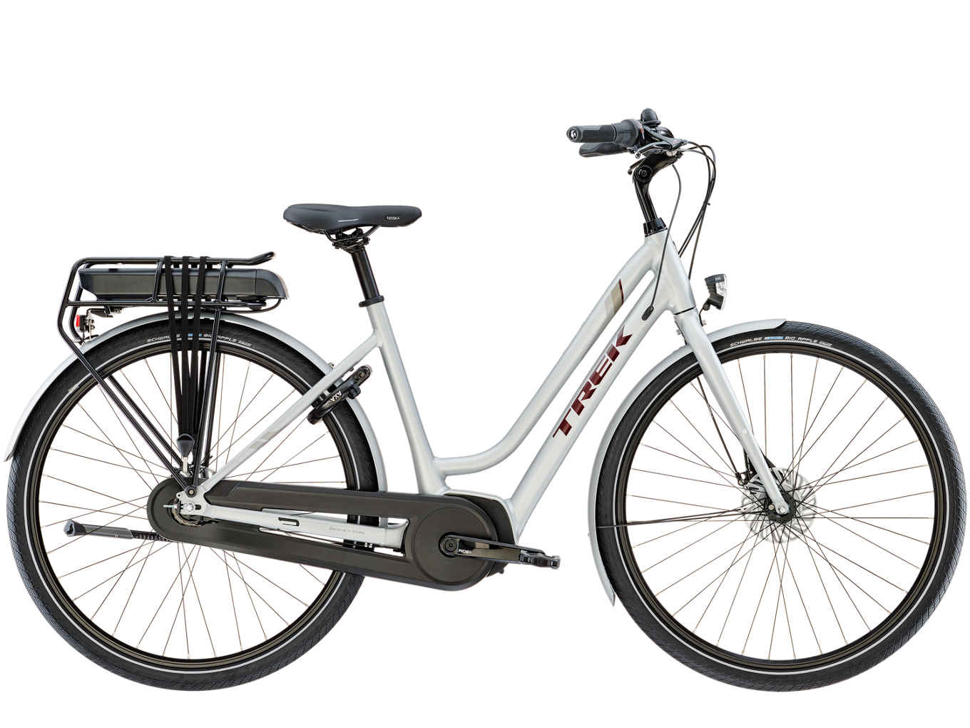Electric Bikes Trek Bikes >> Electric City Bike Trek Um1 Midstep Quicksilver 500wh 2019