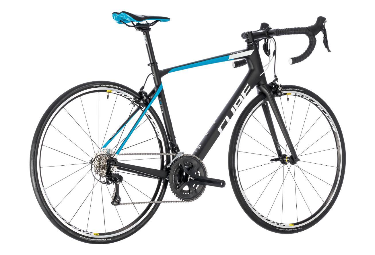 f5112f7d9d4 CUBE Attain GTC Pro carbon Road Bike Shimano 105 11S Blue ...