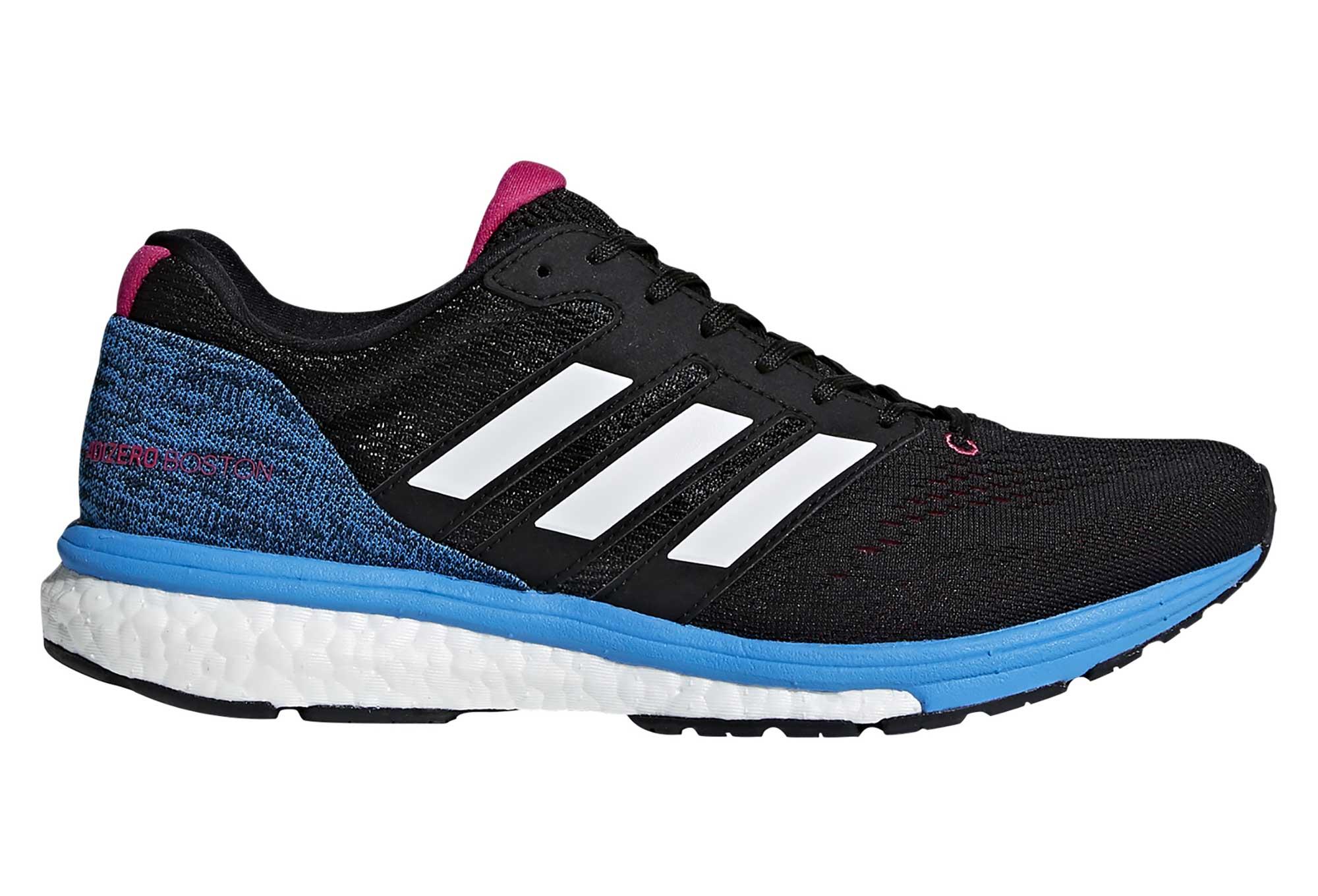 adidas running adizero Boston 7 Negro Azul Rosa Mujer