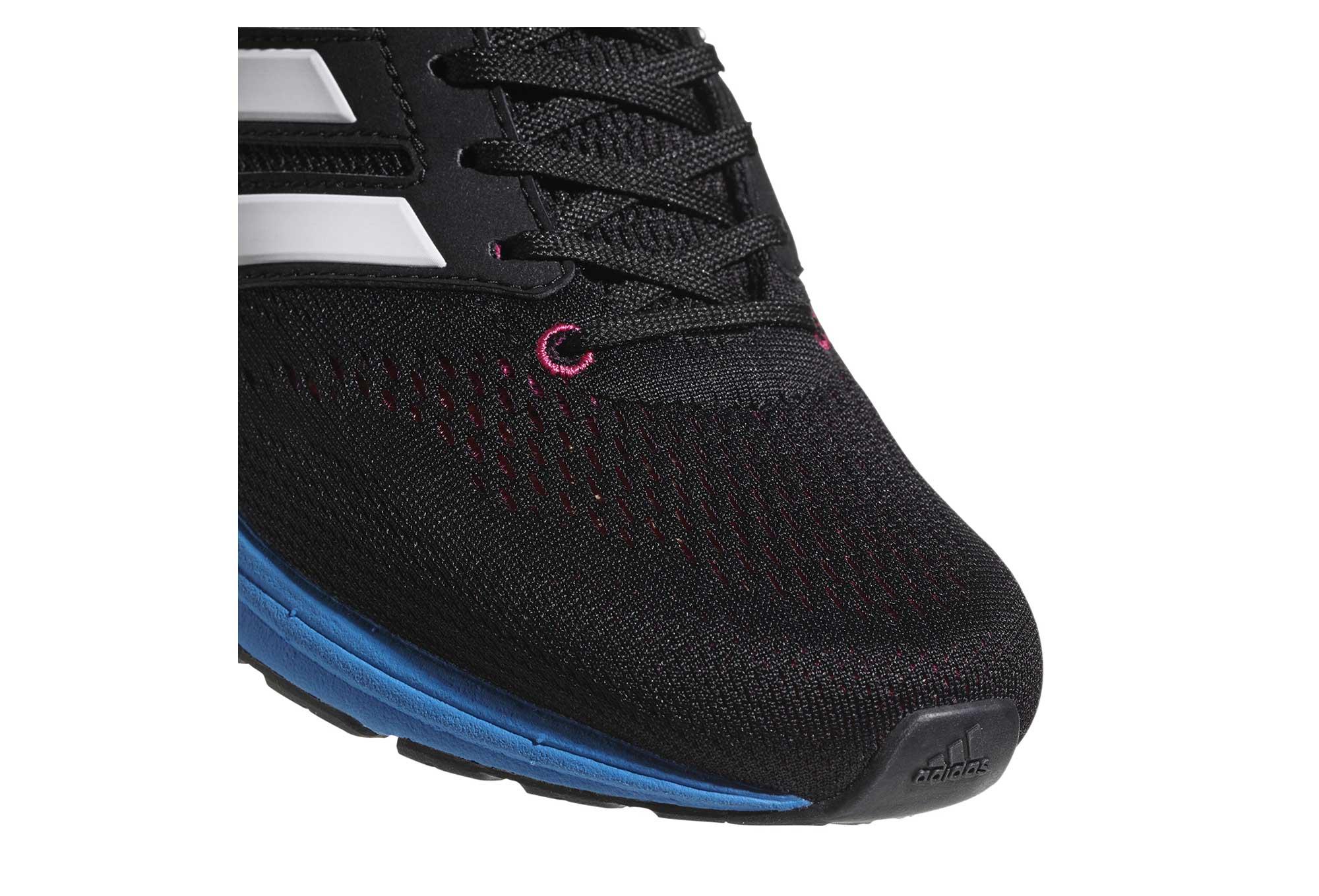 new arrival 3591d c46db Chaussures de Running Femme adidas running adizero Boston 7 Noir  Bleu   Fluo  Rose