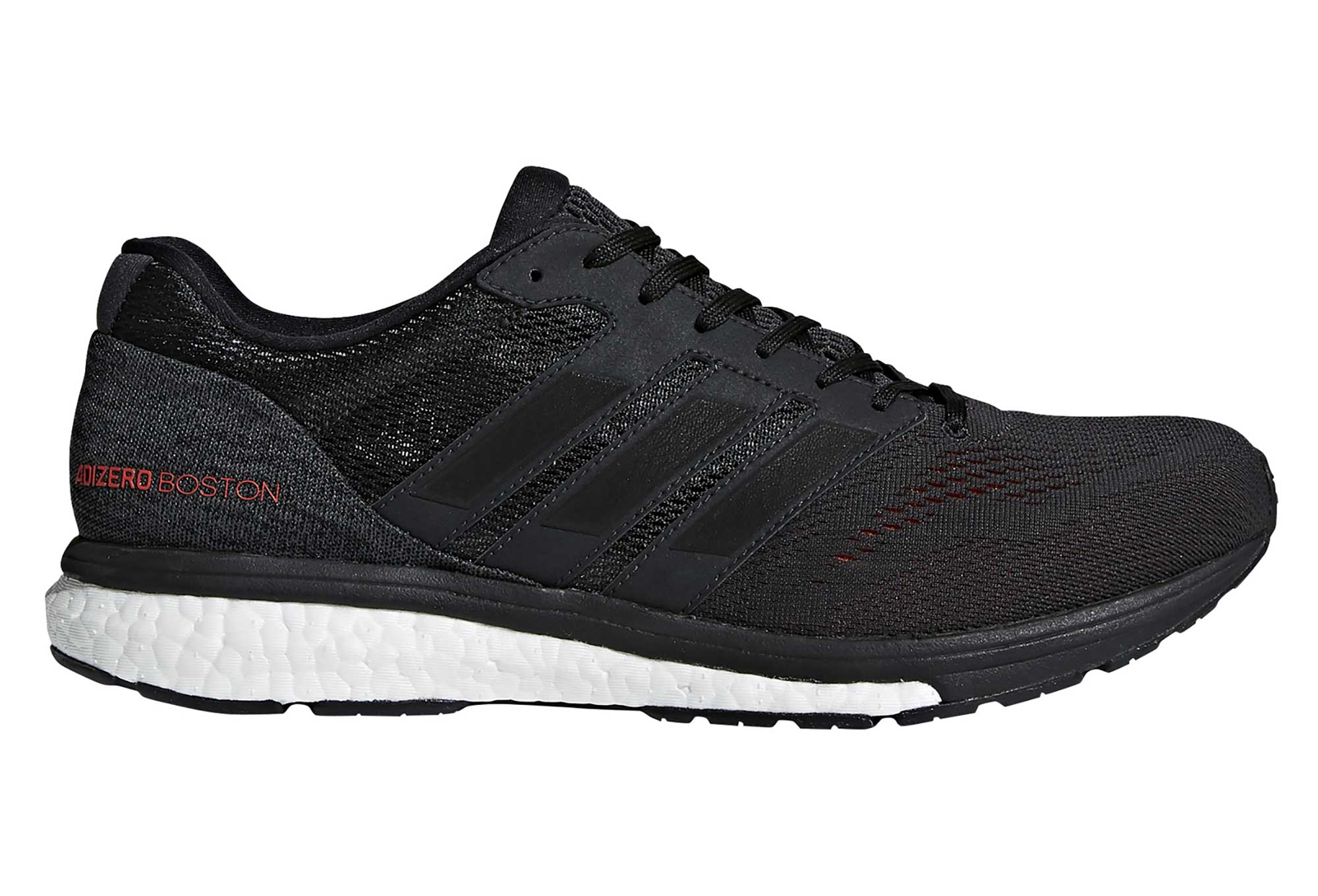 pretty nice e1838 9de3d Chaussures de Running adidas running adizero Boston 7 Gris  Noir  Rouge