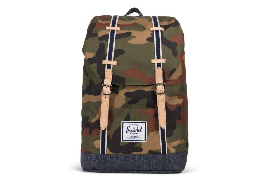 7b19e4c952 Herschel Backpack Retreat Woodland   Camo