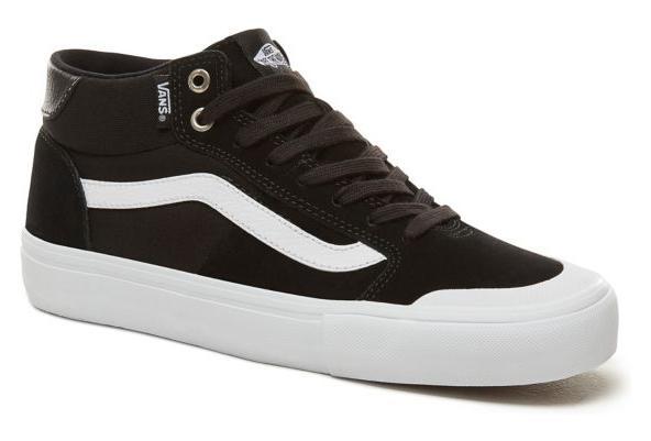 Vans Mid Pro Style 112 Shoes Black White