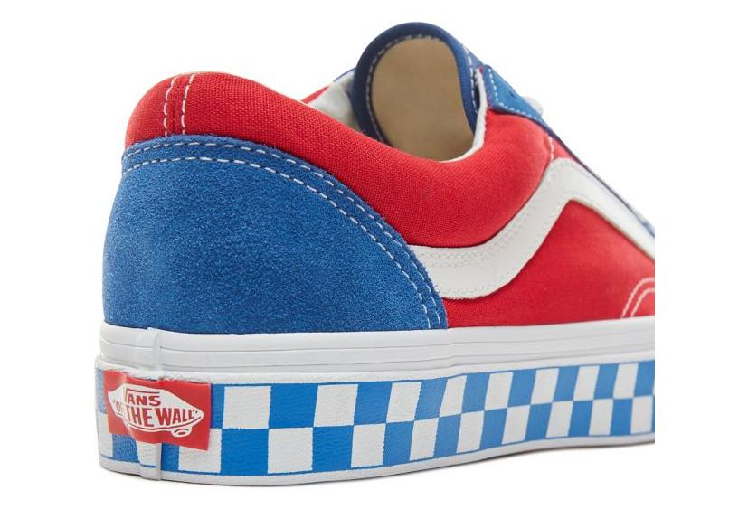 6ba1c75ed82022 Vans Shoes BMX Checherboard Style 36 Blue   Red