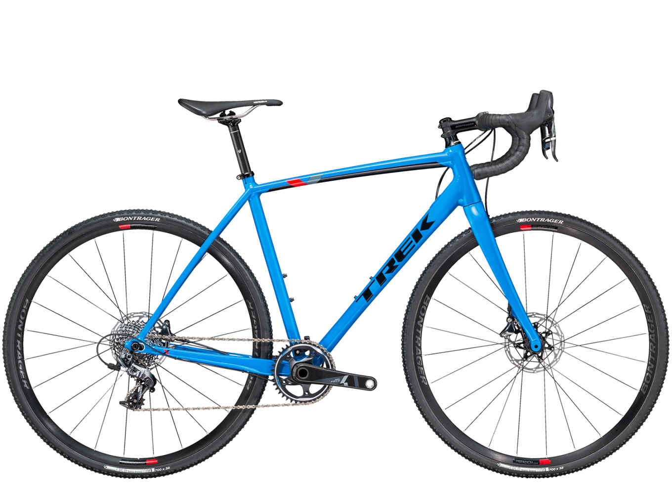 trek cyclocross bike crockett 7 disc waterloo blue black. Black Bedroom Furniture Sets. Home Design Ideas