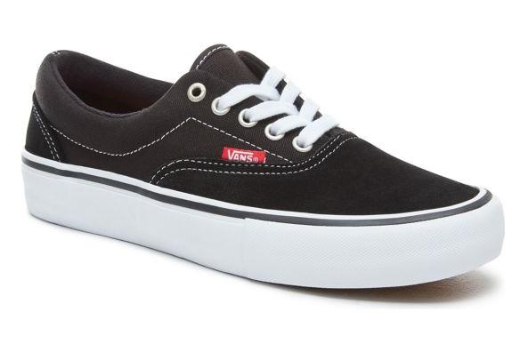 Chaussures Vans Era Pro Noir Blanc