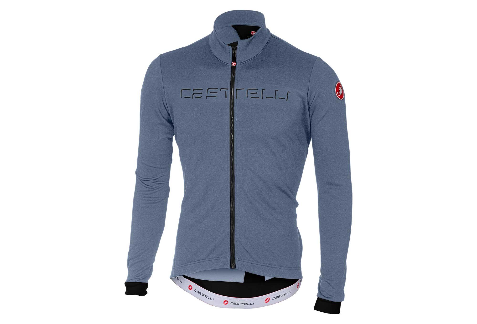 Castelli Fondo Long Sleeves Jersey Moonlight Blue Black  83c2350c2