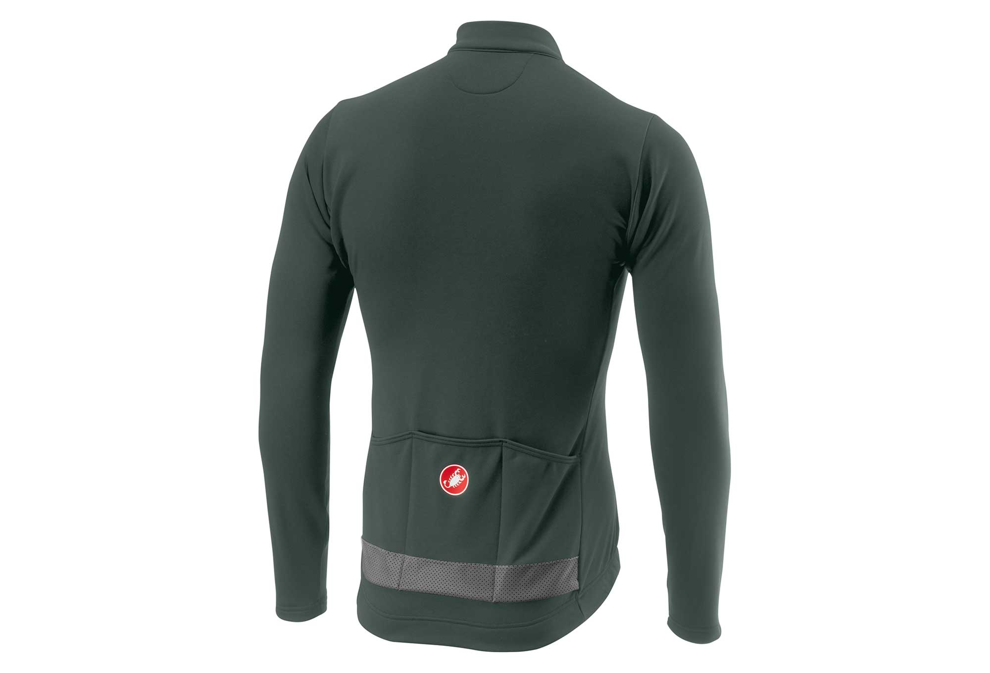 Castelli Puro 3 Long Sleeves Jersey Forest Gray  ac3847f8c