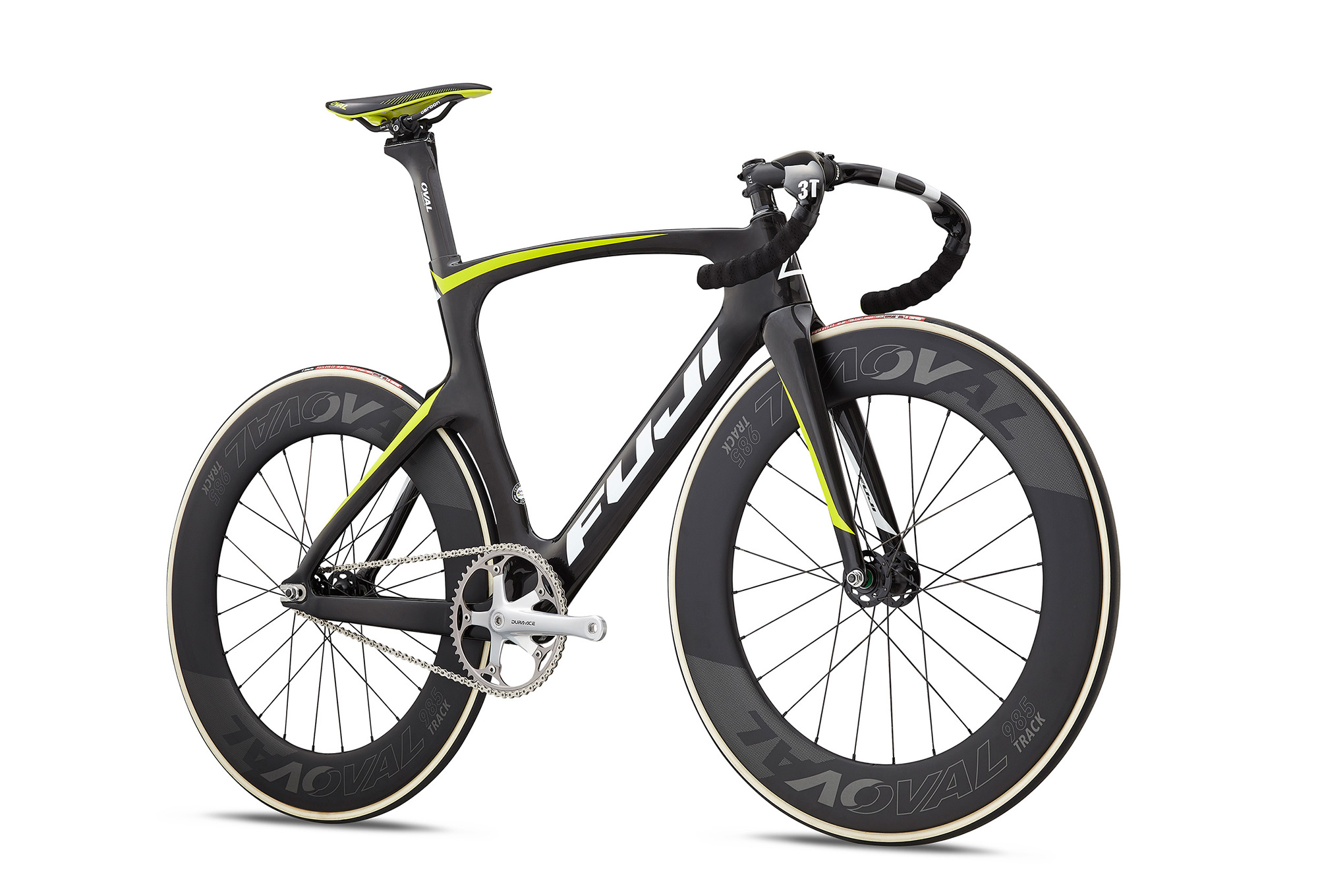 Fuji Track Elite Track Bike 2018 Carbon Citrus   Alltricks.com