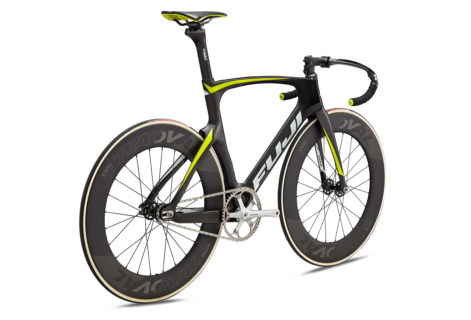Fuji Track Elite Track Bike 2018 Carbon Citrus