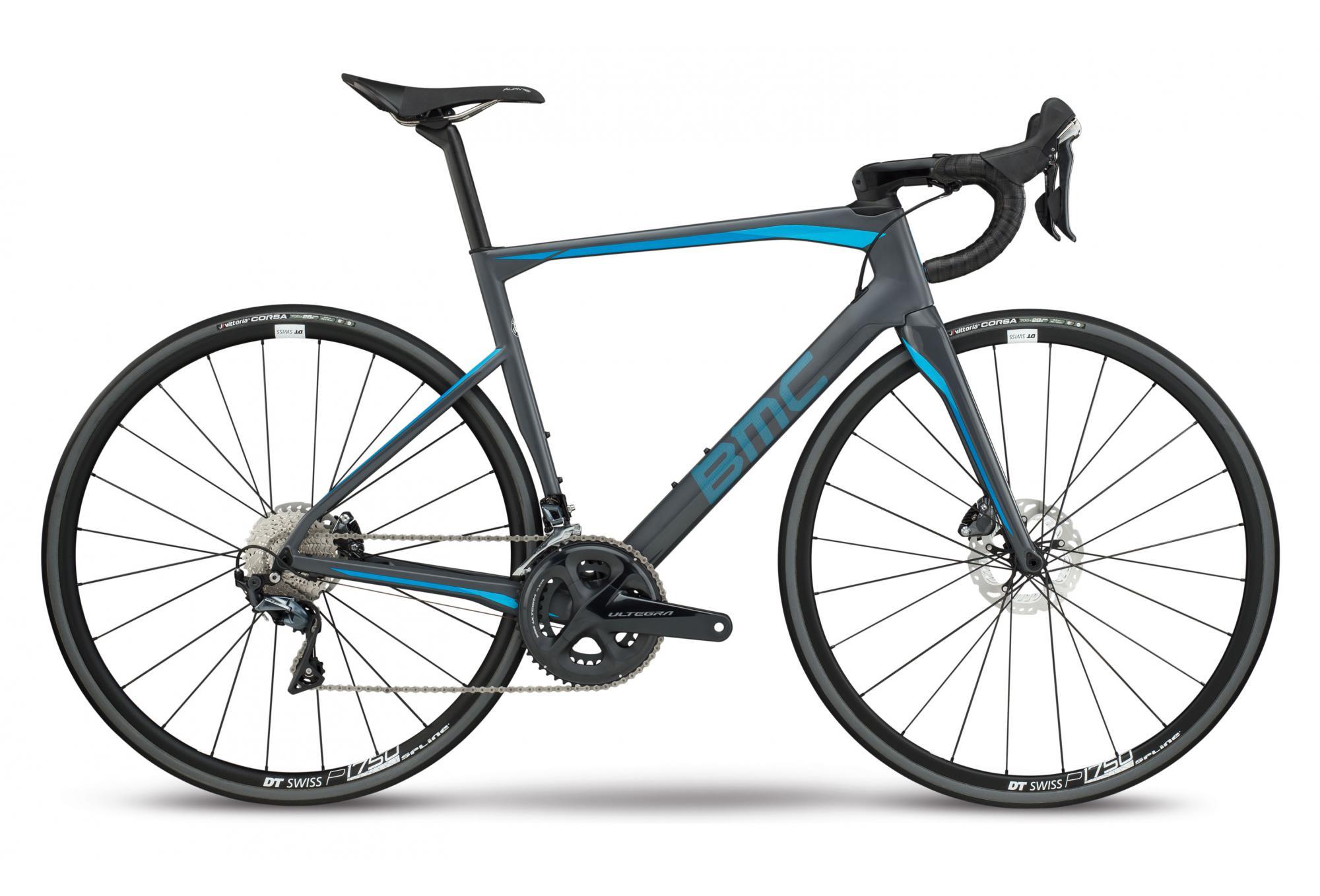 5a8c8b27868 Bicicleta de Carretera BMC Roadmachine RM01 Shimano Ultegra 11V 2018 Gris -  Azul