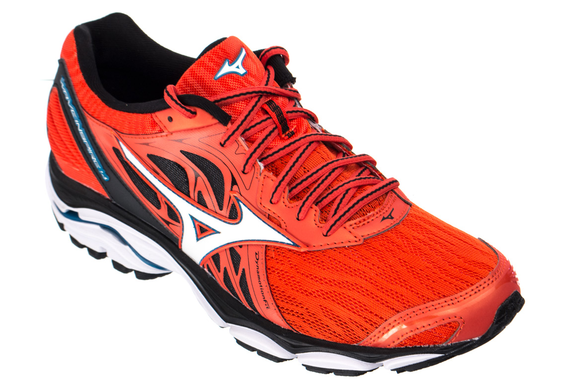 b281222aa85e MIZUNO WAVE INSPIRE 14 Rouge Homme