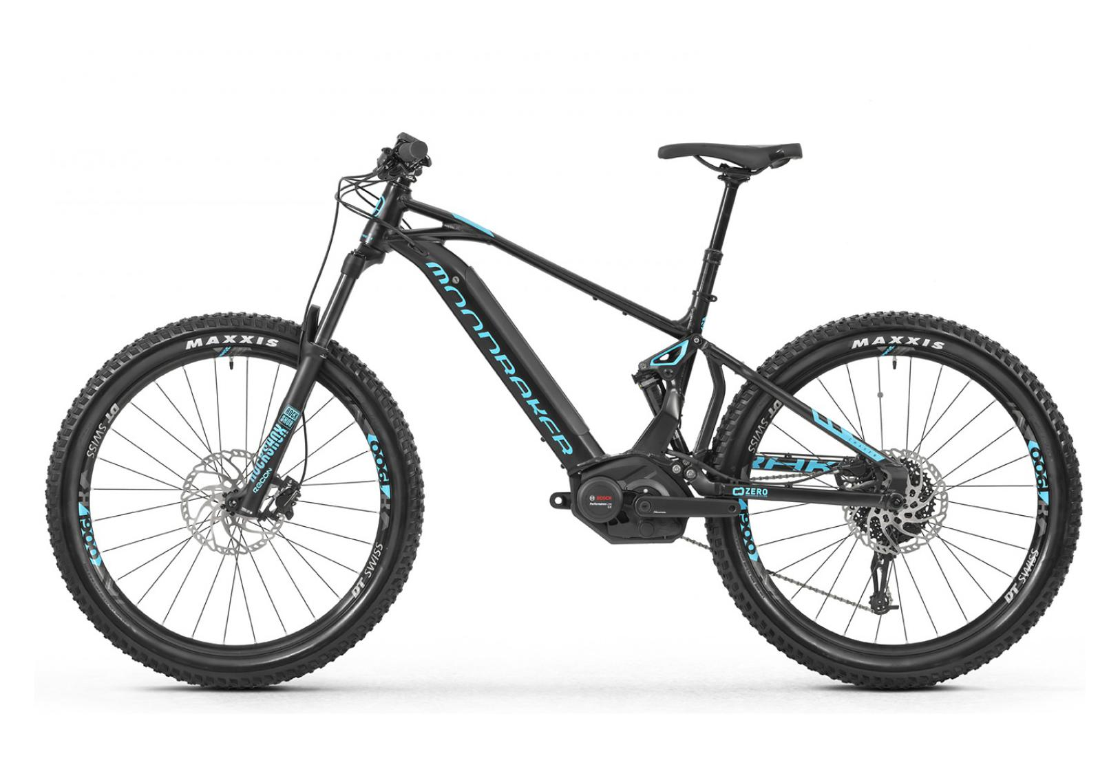 mondraker mtb full suspension electrical chaser sram gx 10s black light blue 2019