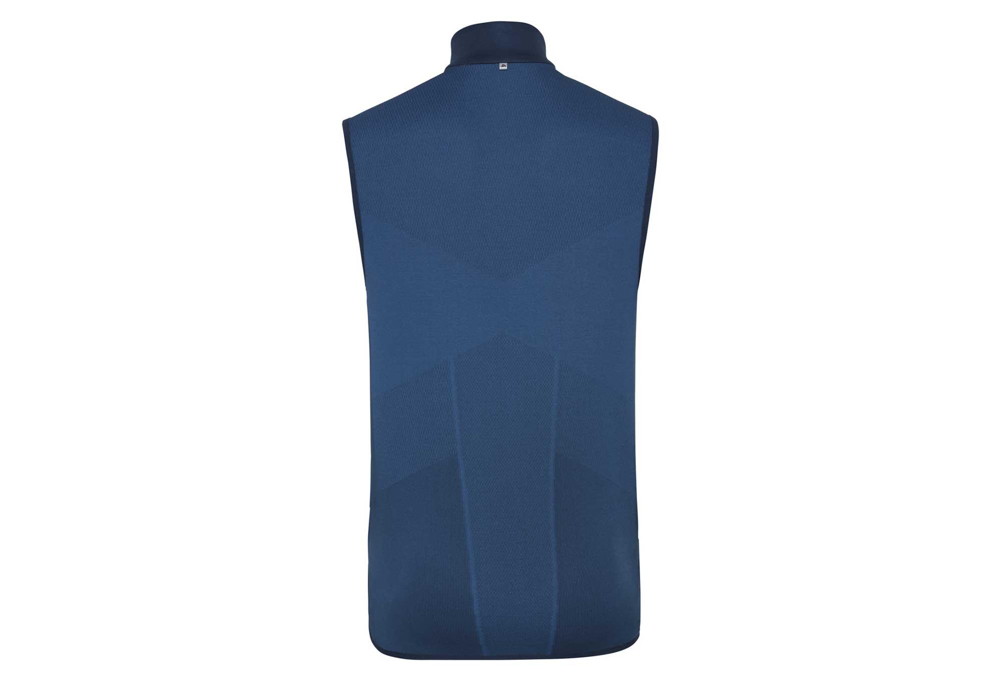 WARM poseidon Seamless Jacket Odlo Blue IRBIS X UMqSGVzp
