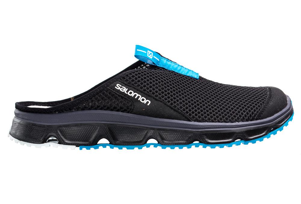 Chaussures de Récupération Salomon RX Slide 3.0 Noir Bleu