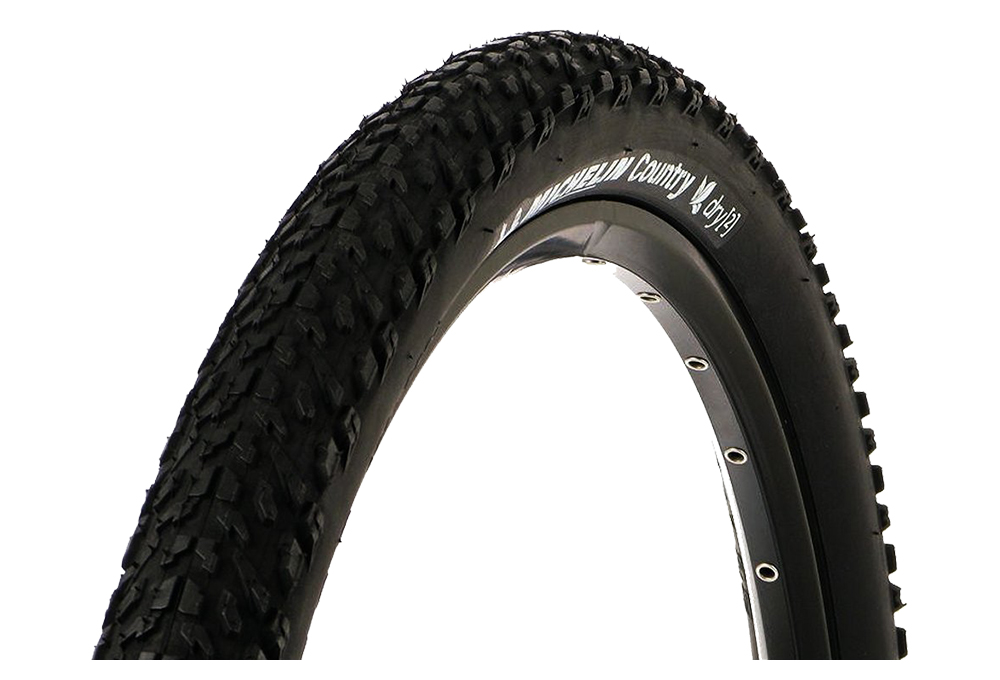 2 Tubes to Air Michelin Country Trail 26 x 2.00 MTB New 2 Tires Mountain Bike