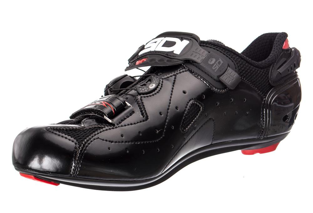 Noir MEGA Chaussures ERGO Route Sidi 4 qwxxYHX1