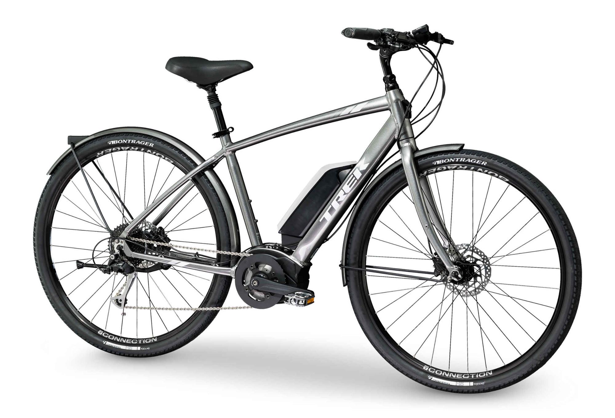 trek verve hybrid urban bike shimano alivio 9s grey 2019. Black Bedroom Furniture Sets. Home Design Ideas