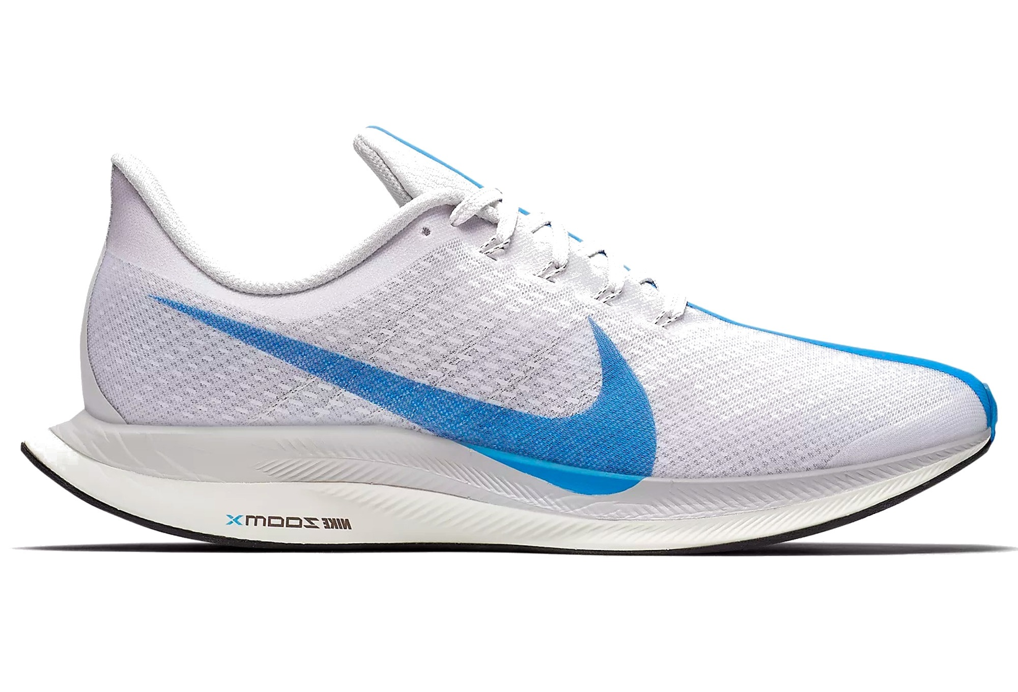 new york ca5fc 37f4b Chaussures de Running Nike Zoom Pegasus Turbo Blanc   Bleu