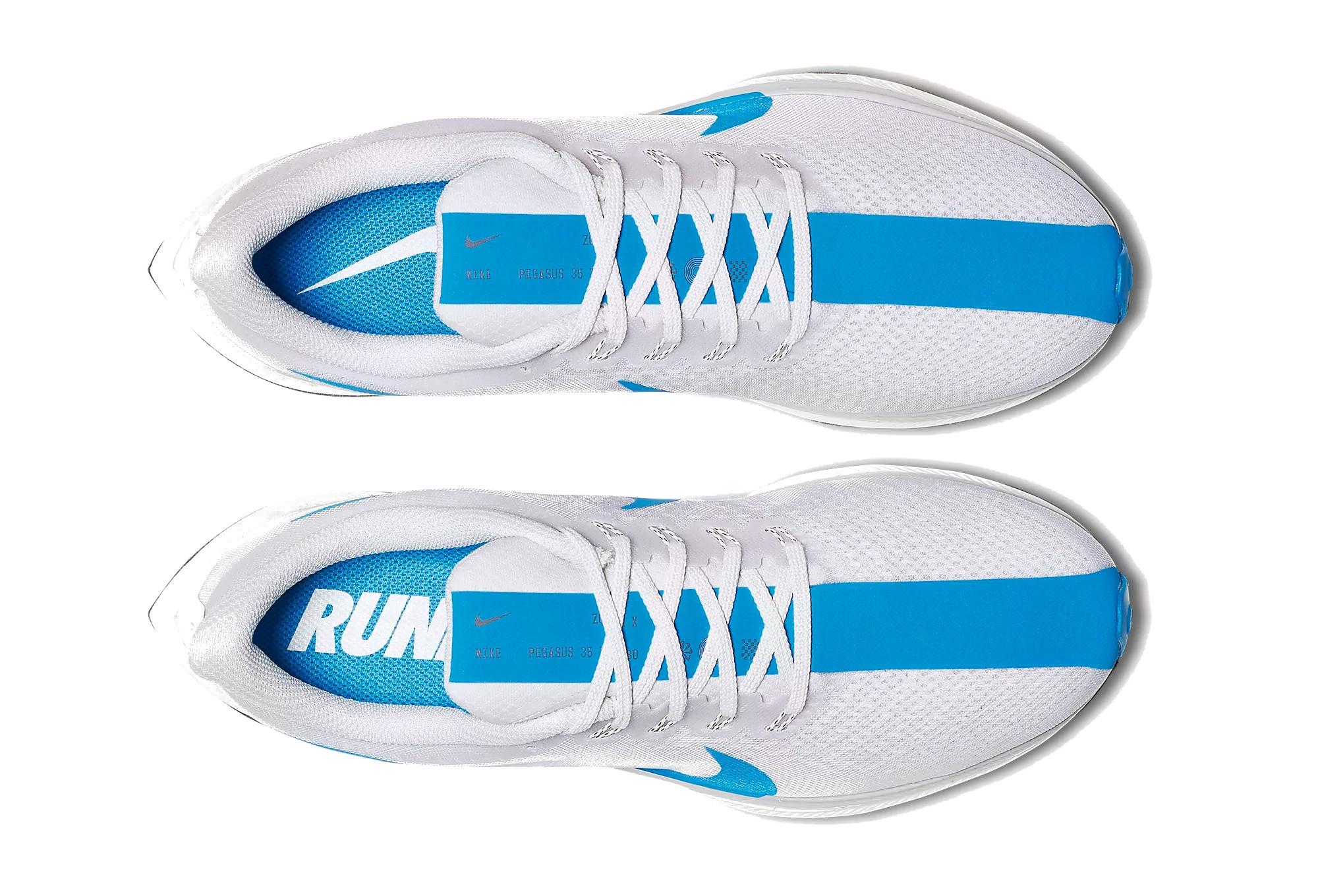 vente chaude en ligne 04215 da934 Nike Shoes Zoom Pegasus Turbo White Blue Men