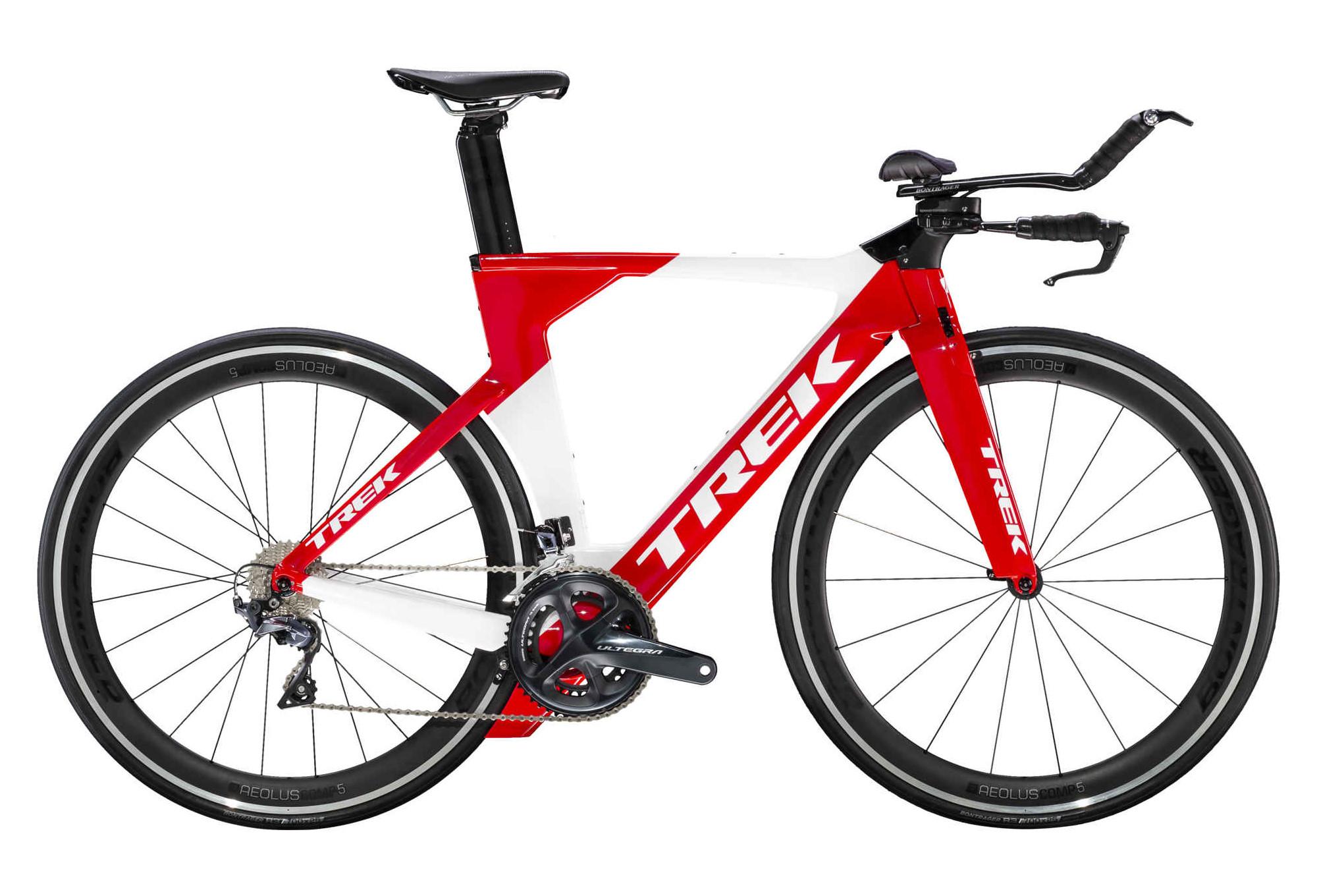 Trek Speed Concept Triathlon Bike Shimano Ultegra 11S Red / White