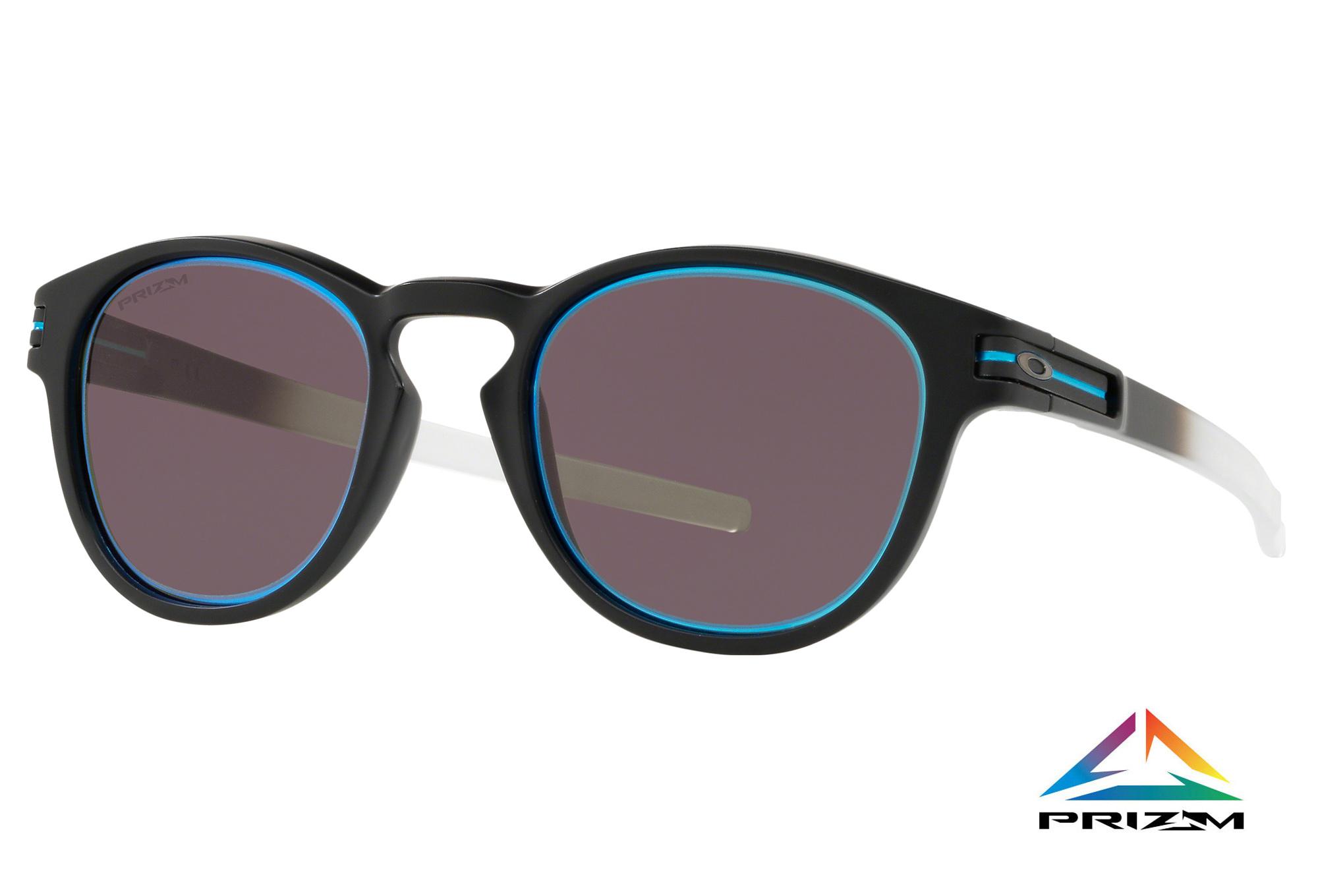 24342c1f64 Oakley Latch Borderline Collection Glasses Matte Black   Prizm Grey OO9265 -3553