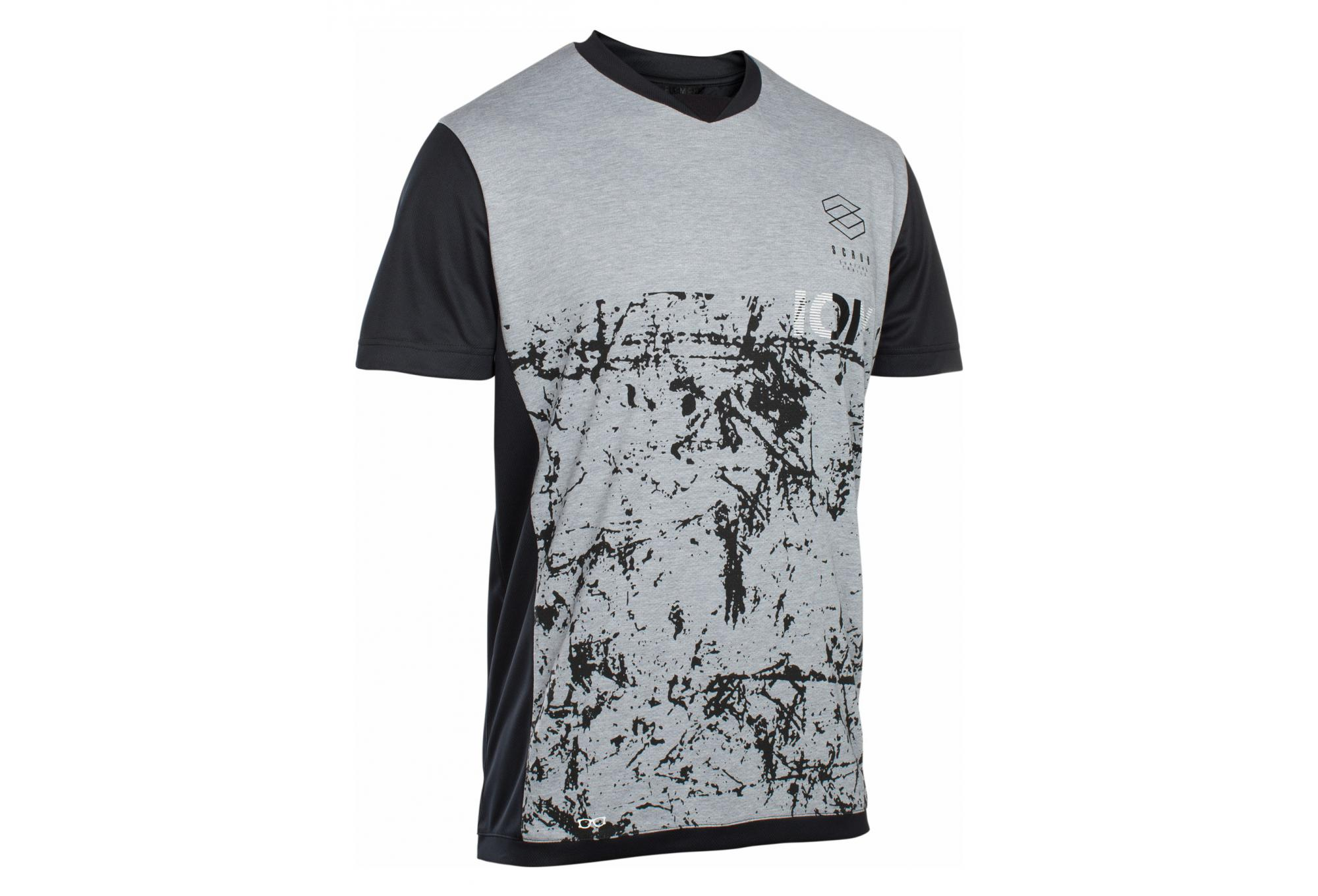 34dc3d4e3a2 ION Scrub AMP T-Shirt Short Sleeves Grey   Black