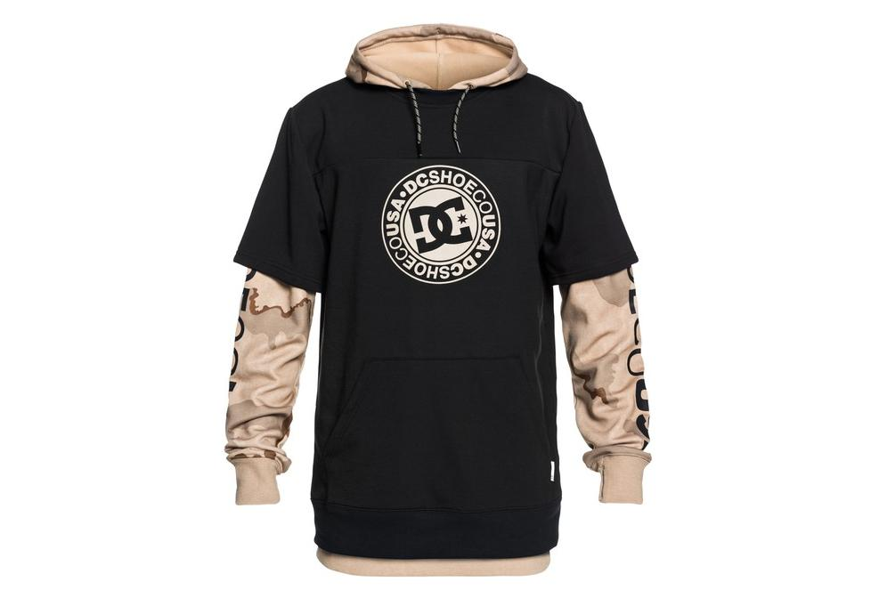 d53a81b709 DC Shoes Hooded Sweatshirt Dryden Black | Alltricks.com