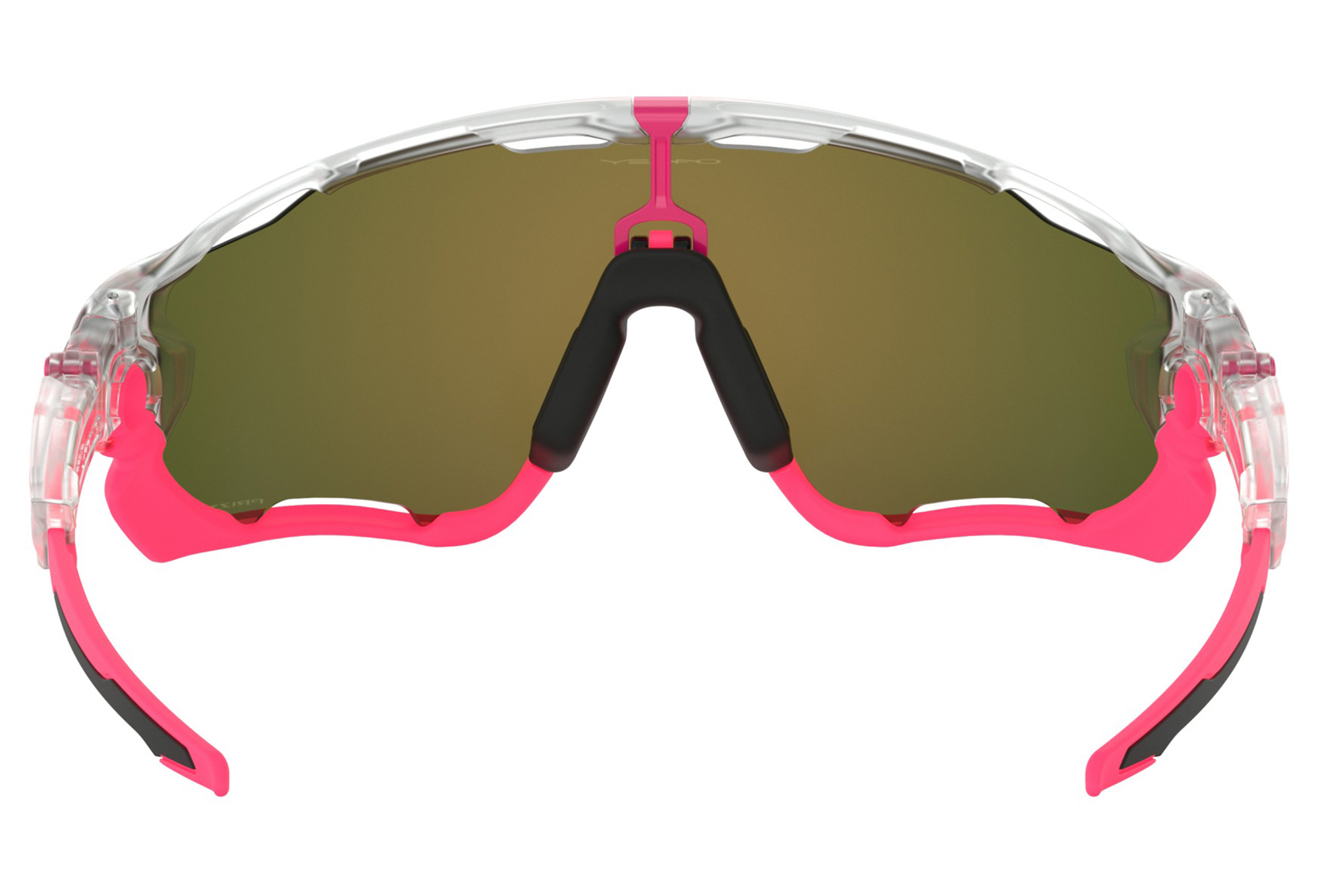 bc94ceb759 Oakley Jawbreaker Crystal Pop Collection Glasses Matte Clear   Prizm Ruby  OO9290-3931