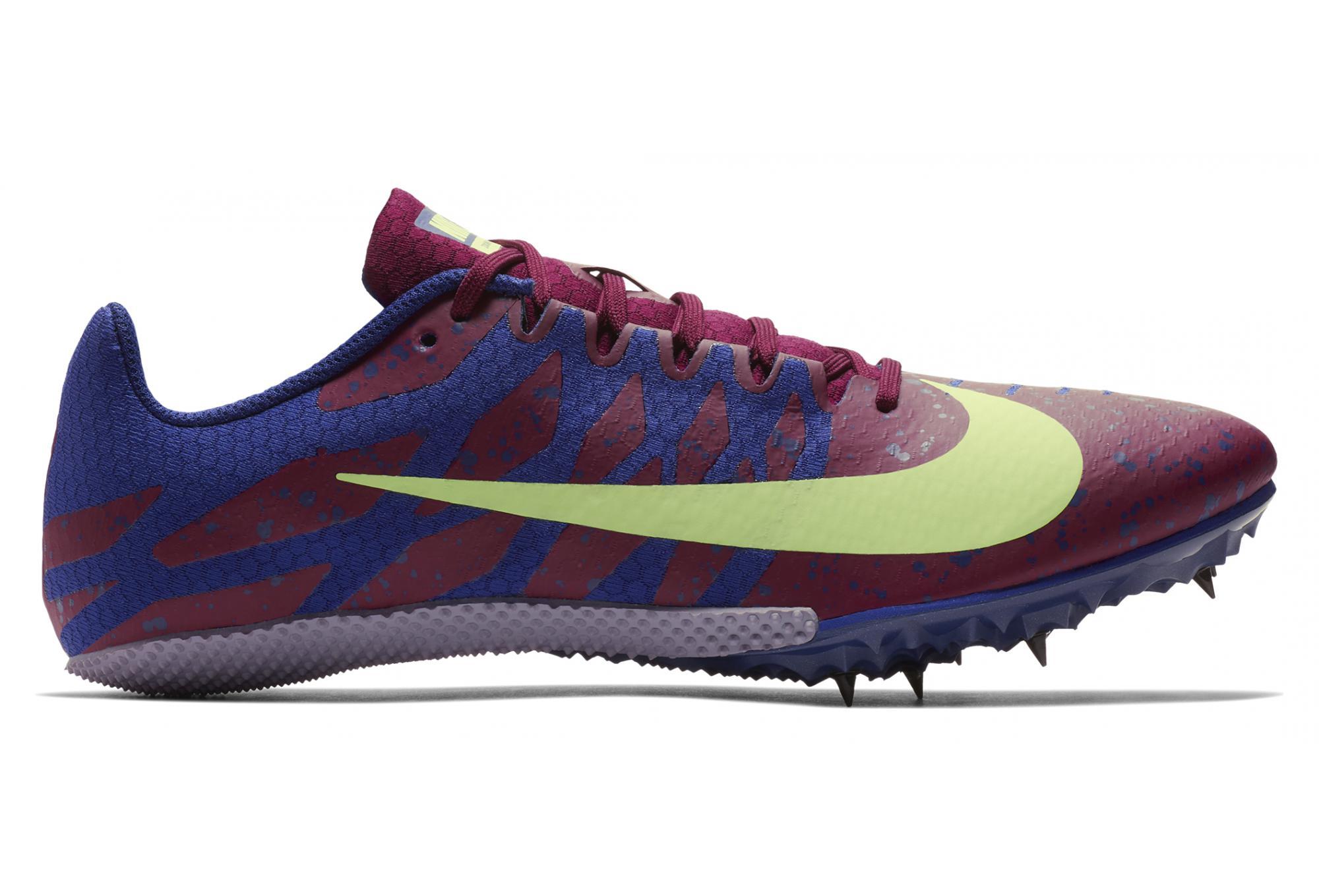 timeless design dbdee 19ced Chaussures d Athlétisme Nike Zoom Rival S 9 Bleu   Rouge