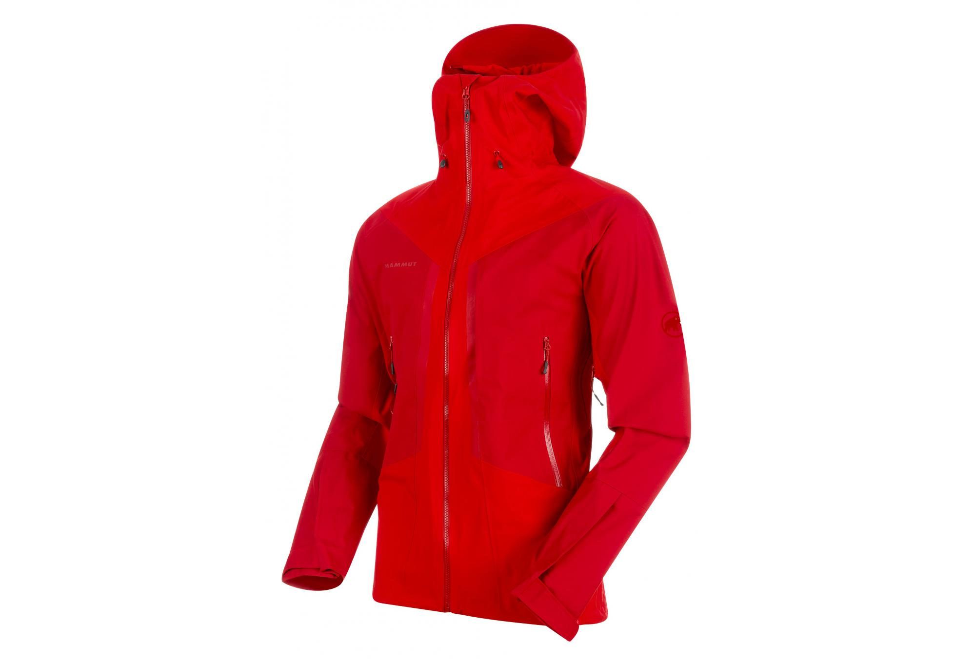 outlet boutique order detailed images Mammut Masao Waterproof Jacket Red