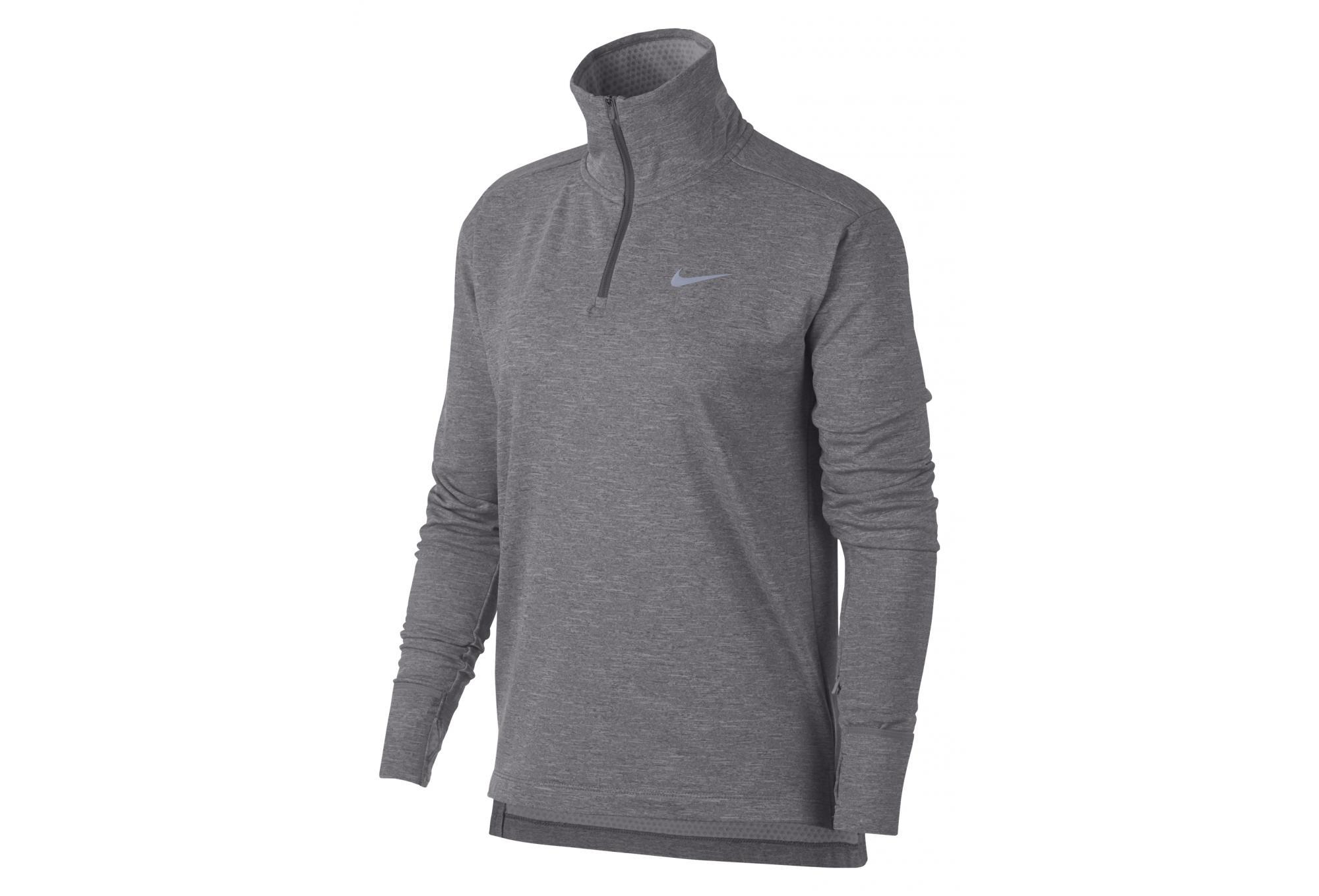 06bcee5b7 Nike Therma Sphere Element Women's Long Sleeves Jersey Grey ...