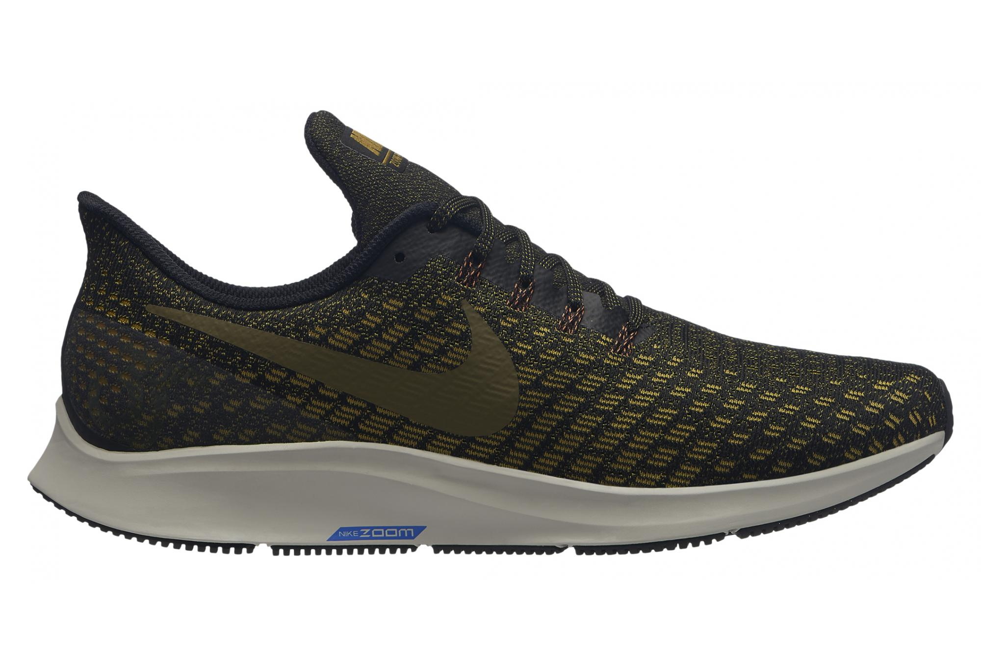 classic fit 643f0 d096d Nike Air Zoom Pegasus 35 Shoes Black Gold Men