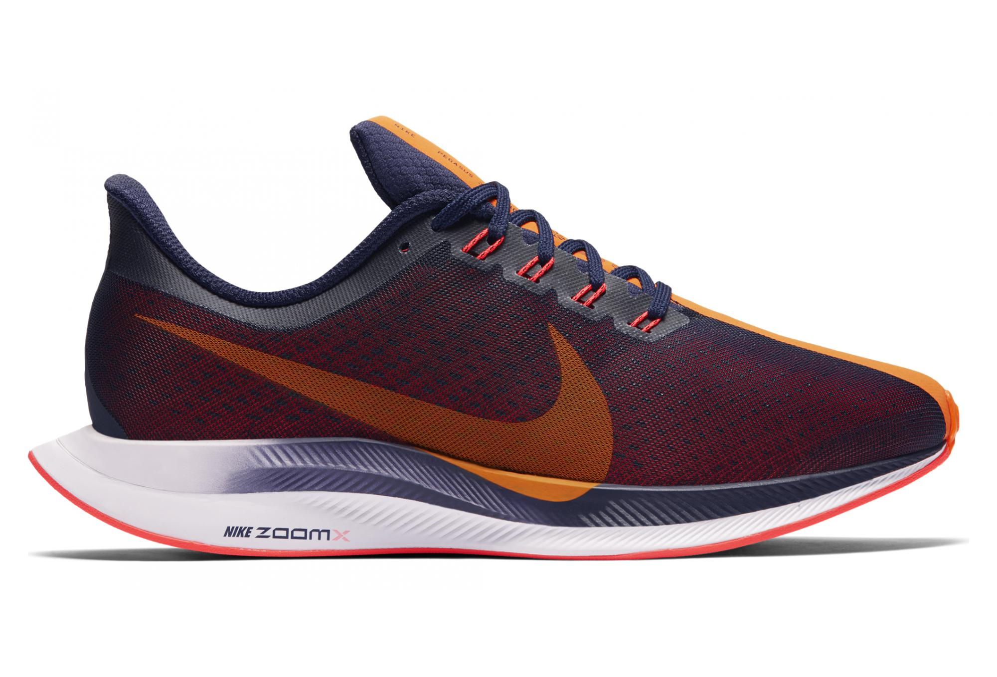 reputable site 3eaed 57c59 Chaussures de Running Femme Nike Zoom Pegasus Turbo Bleu   Orange