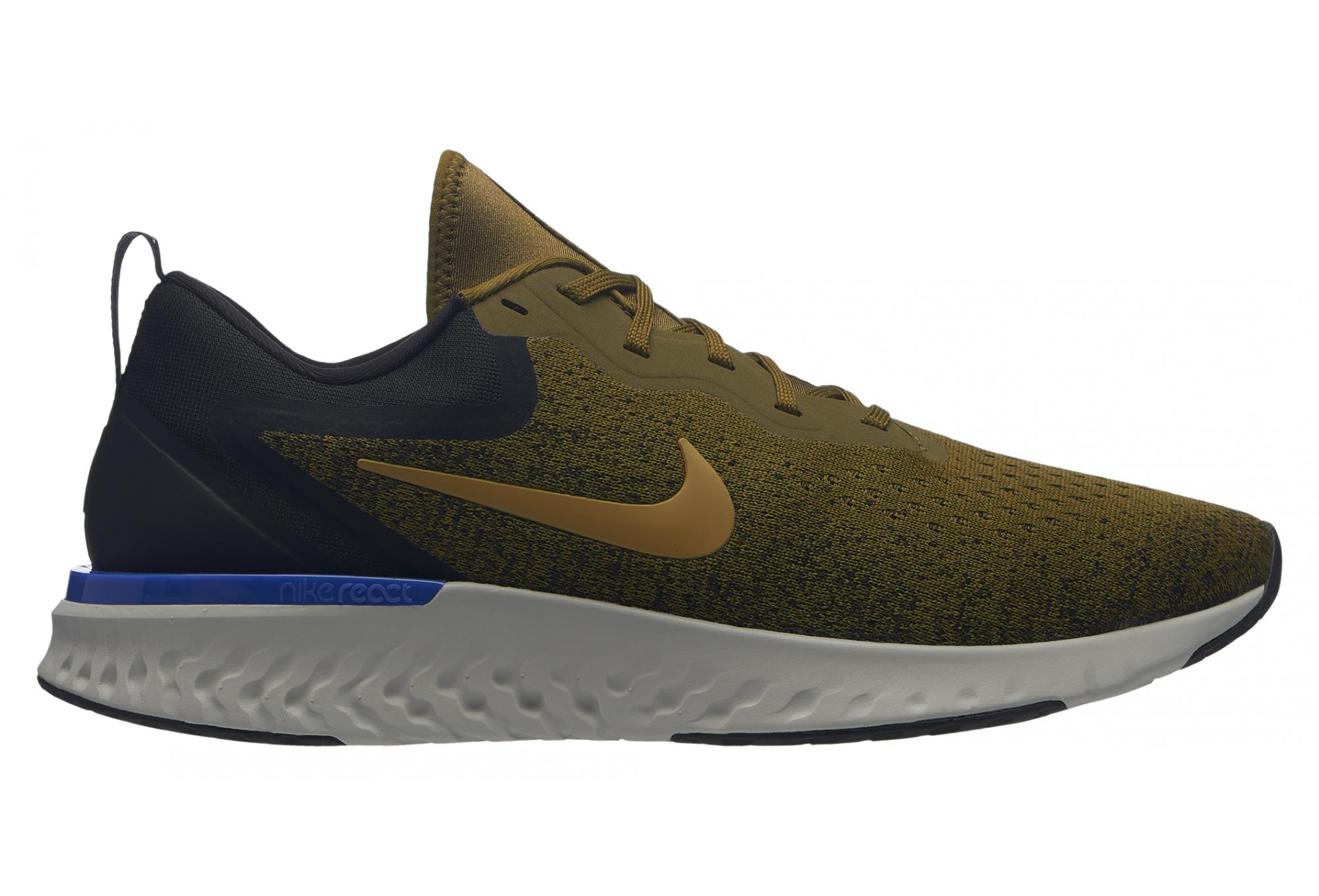 714dc3b6912e0b Nike Odyssey React Shoes Khaki Men | Alltricks.com