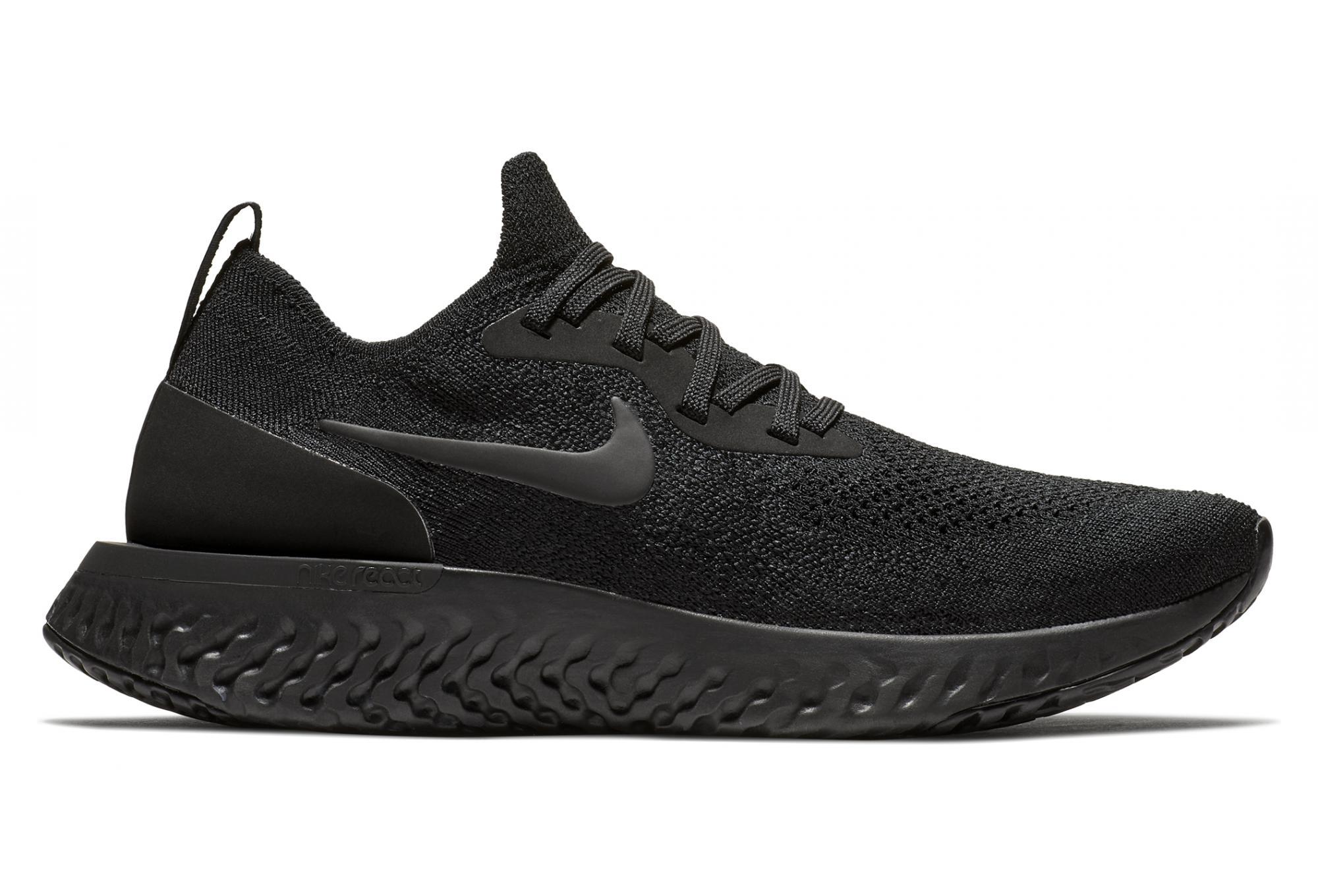 5e133dabb283 Nike Epic React Flyknit Women s Shoes Black