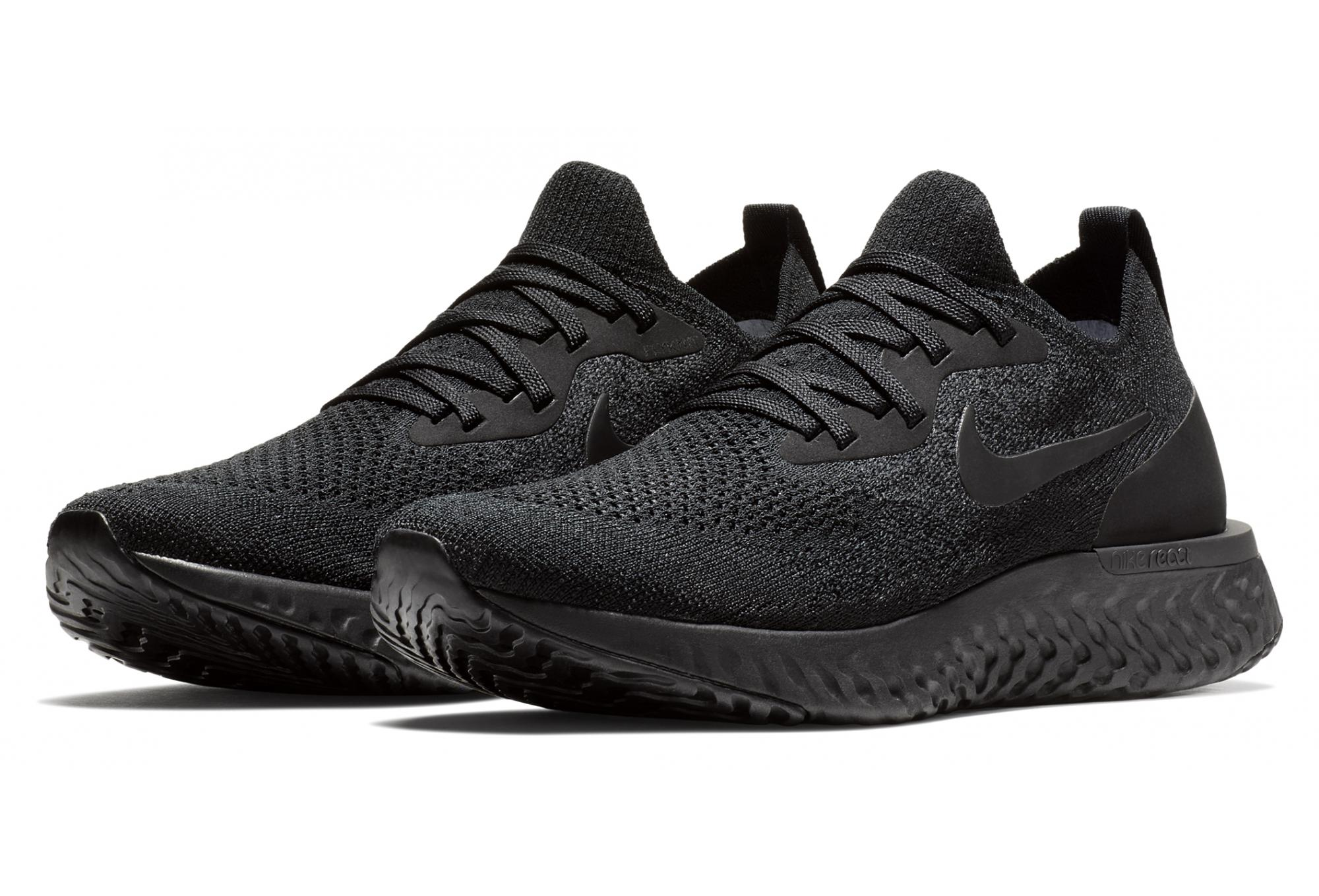 wholesale dealer 8098d 3fdf7 Nike Epic React Flyknit Women's Shoes Black | Alltricks.com