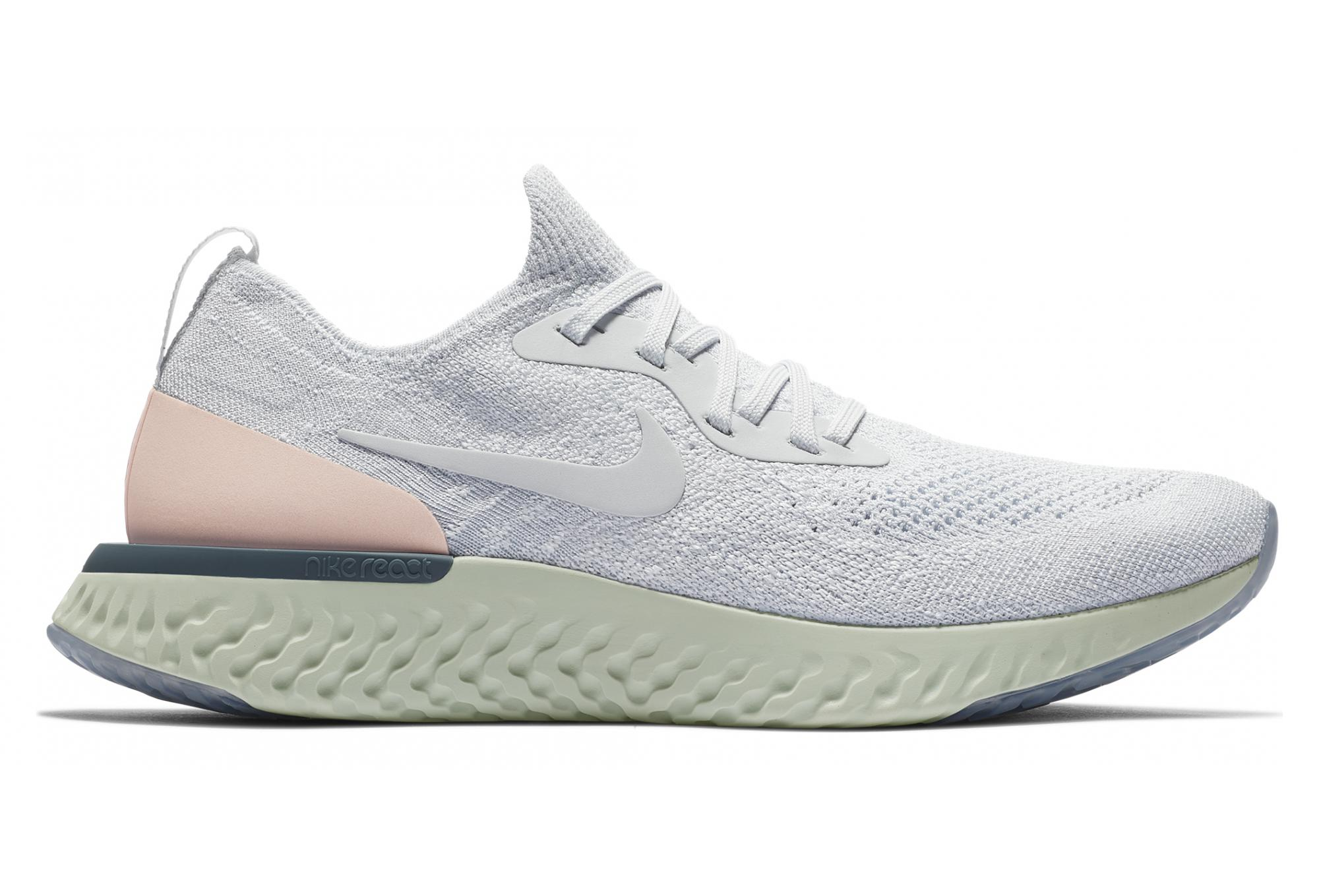 00d63f9f80123 Nike Epic React Flyknit Women s Shoes White